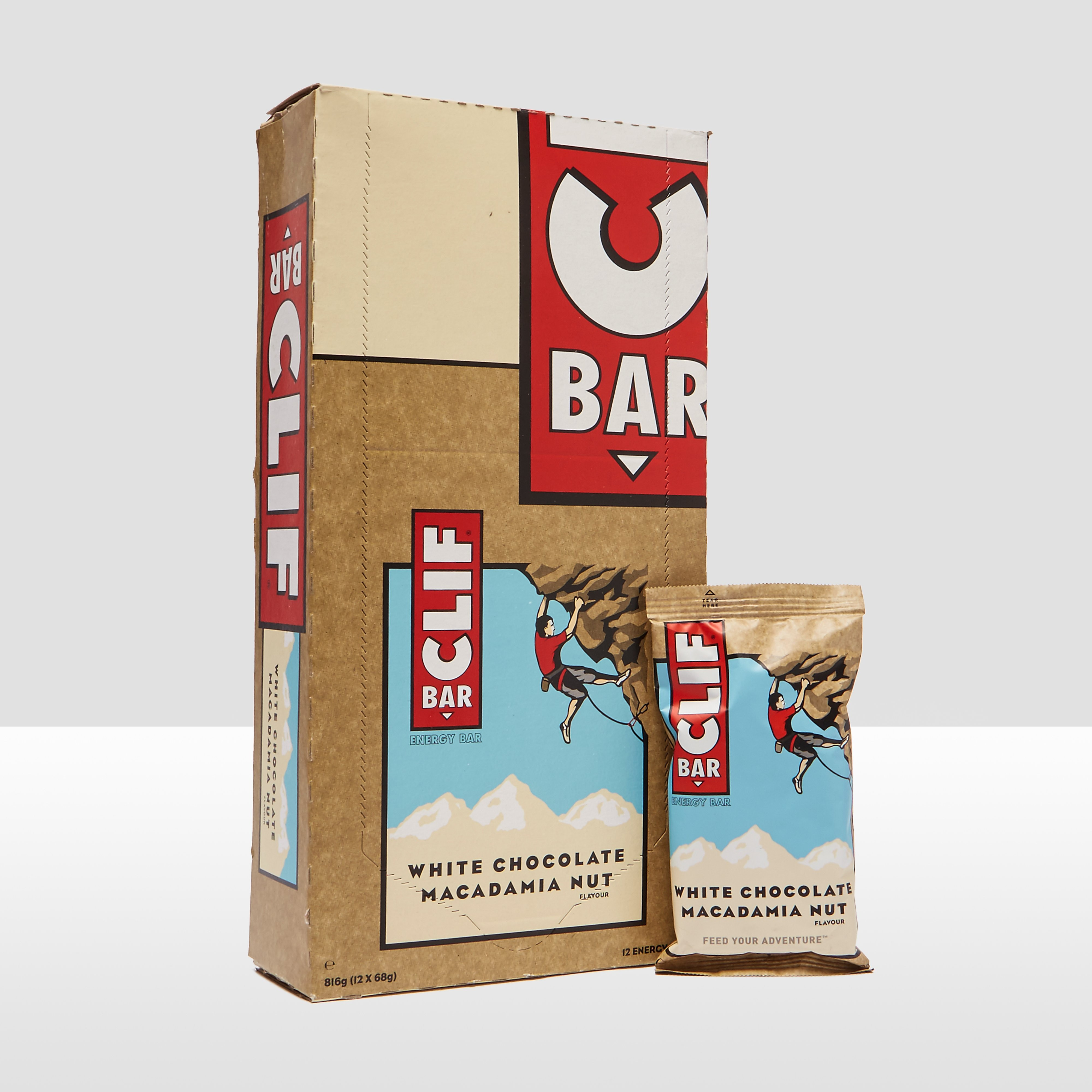 Clif CLIF BAR (12 PACK)- White Chocolate Macadamia Nut