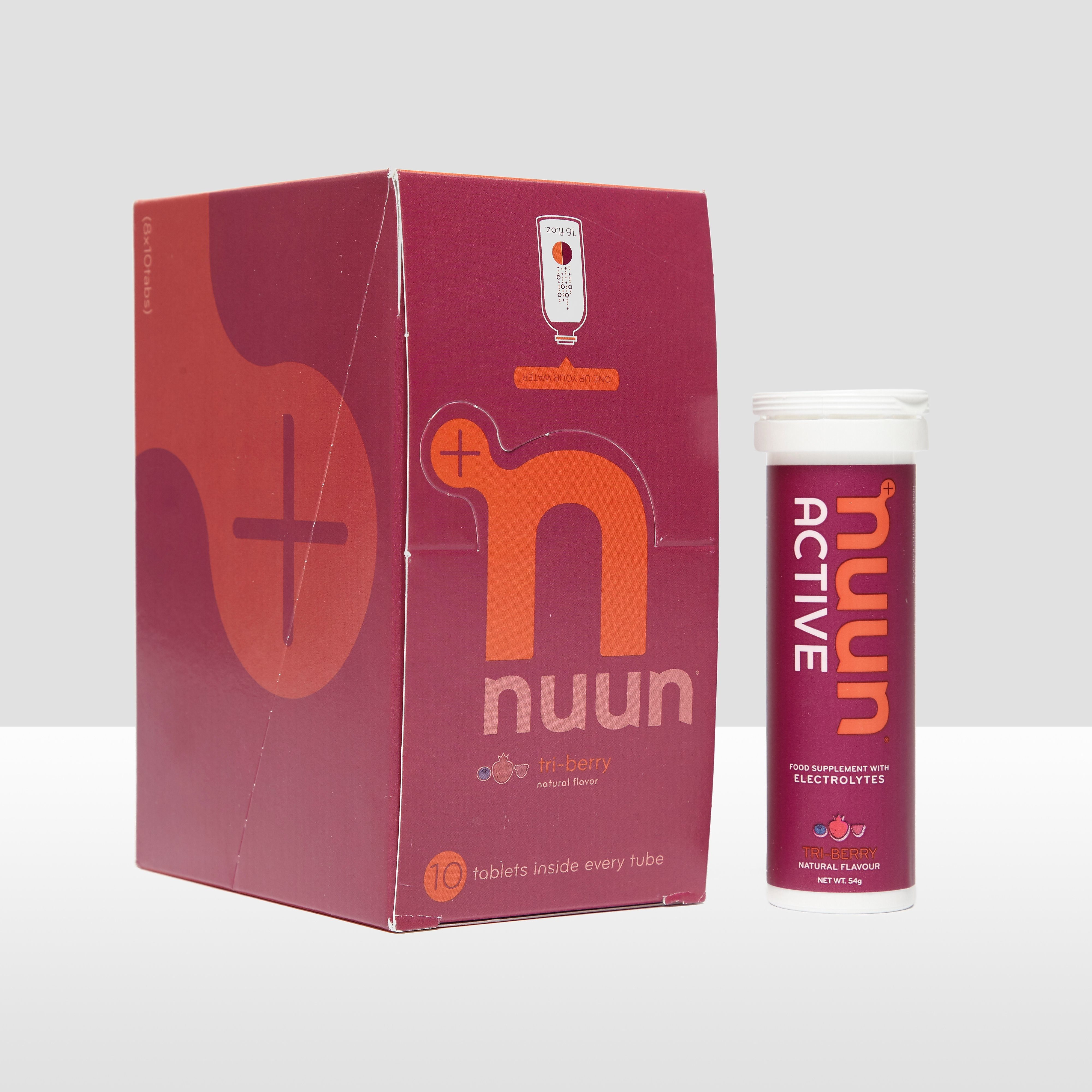 Unnu Active Hydration Tablets (8 pack) – Tri-Berry