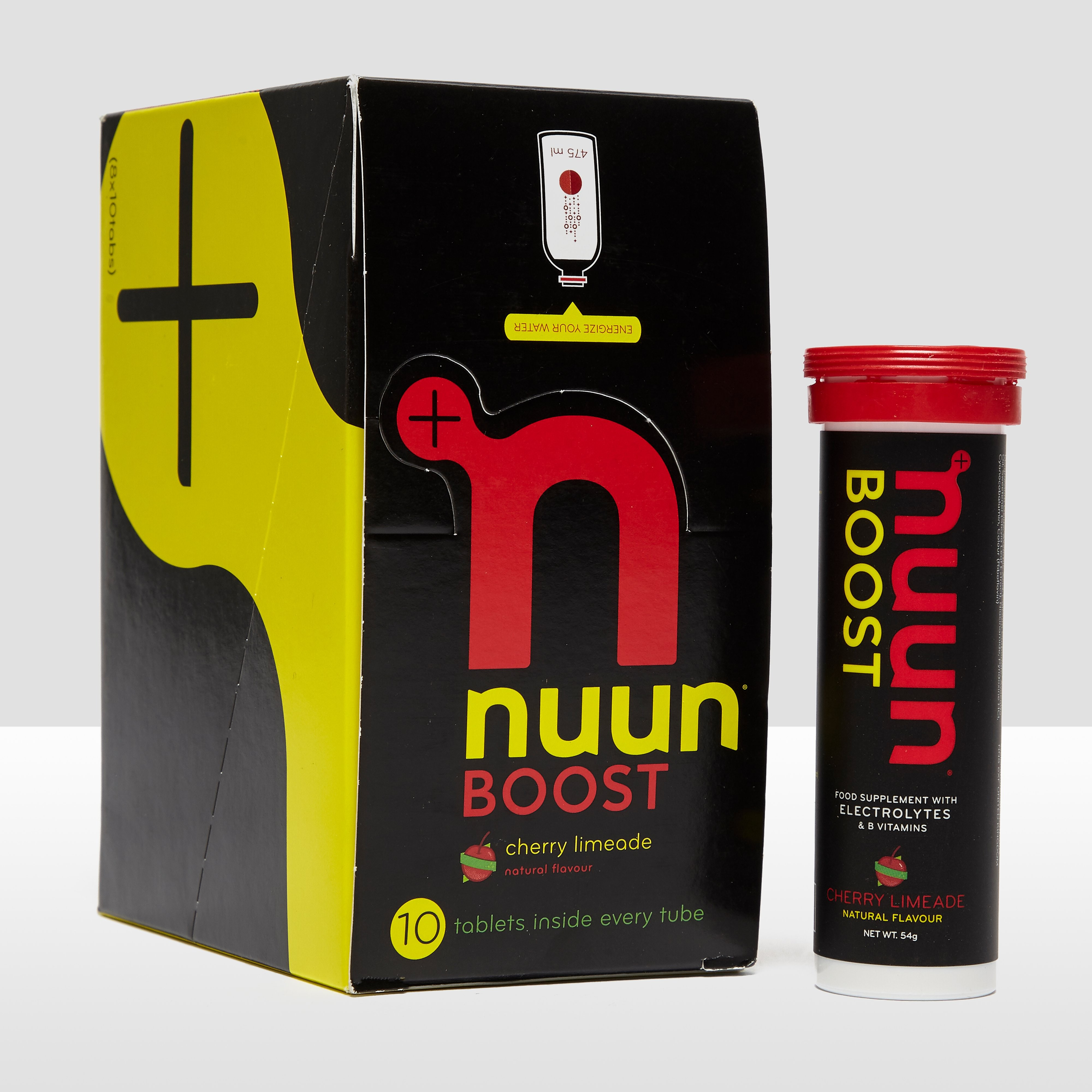Nuun Boost Hydration Tablets (8 Pack) - Cherry Limeade