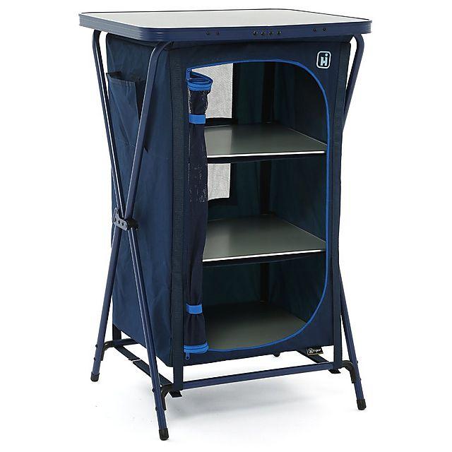 Hi Gear Elite 4 Shelf Cupboard – Colour: Graphite