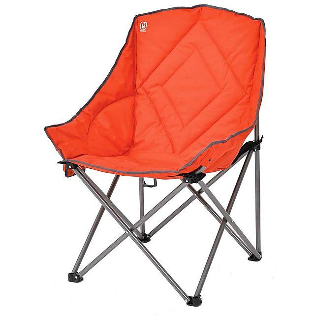 HI-GEAR Vegas XL Chair, RED-GREY