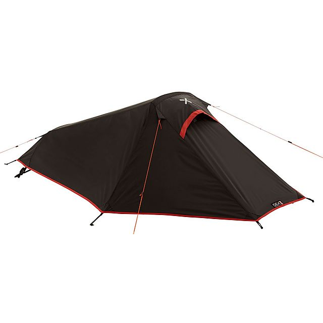 OEX Phoxx 1 Person Backpacking Tent, BLACK