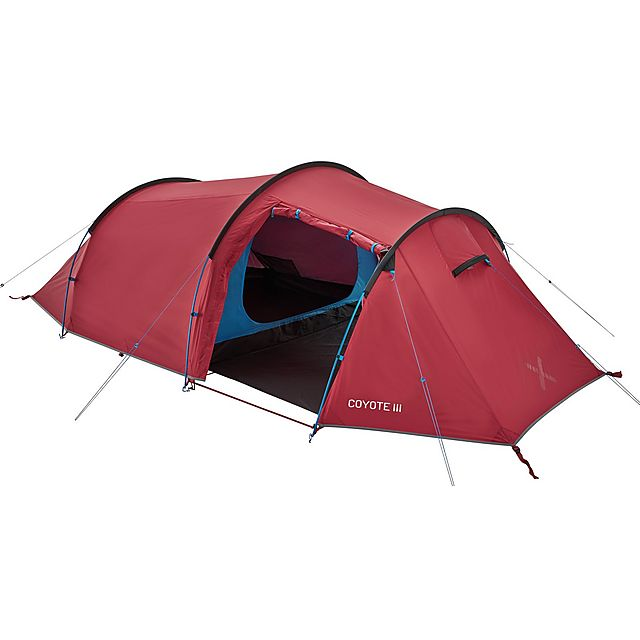 OEX Coyote III Backpacking Tent, RED