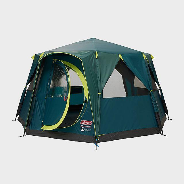 COLEMAN Octagon Blackout Tent, Green/GRN