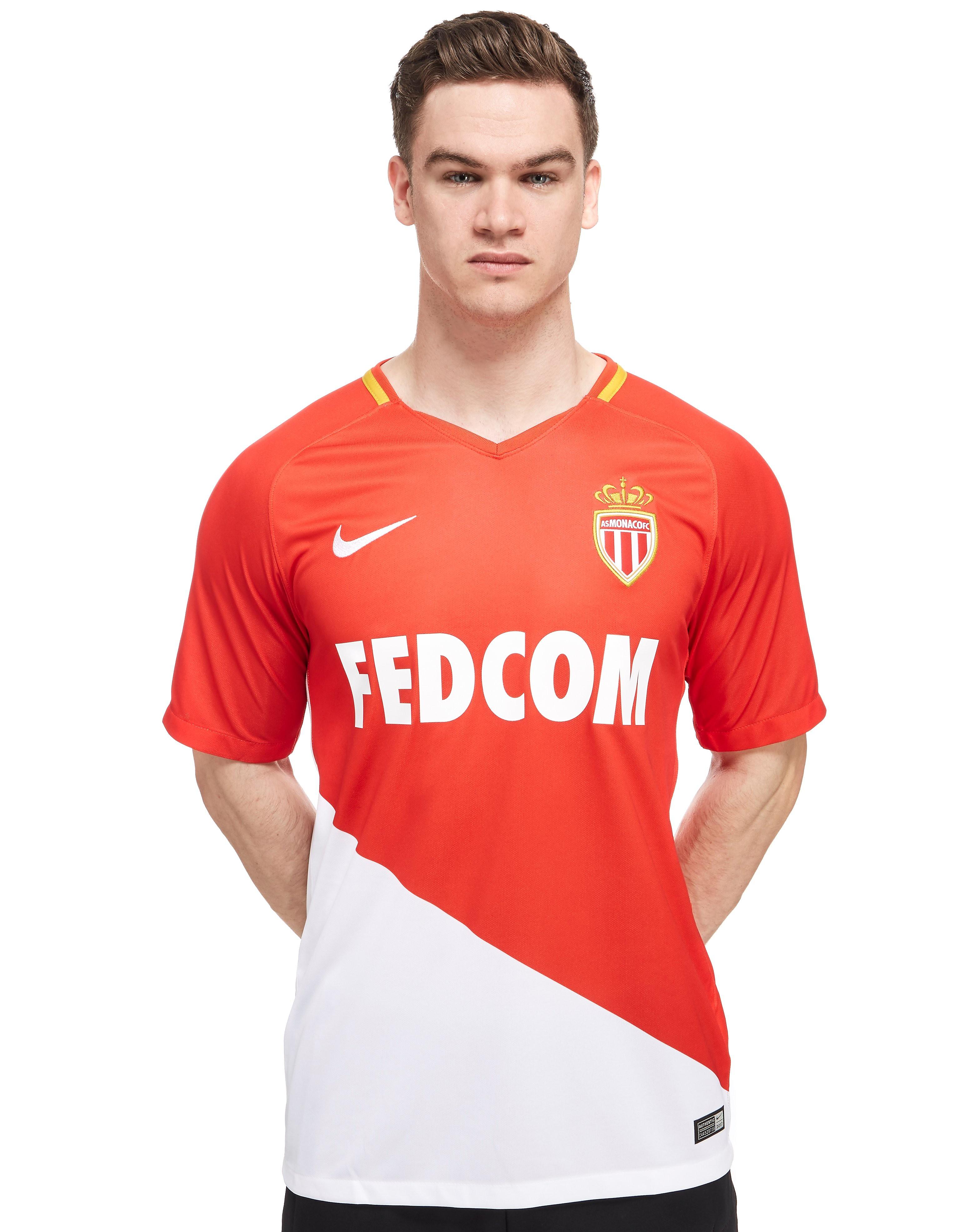 Nike AS Monaco 2017/18 Home Shirt