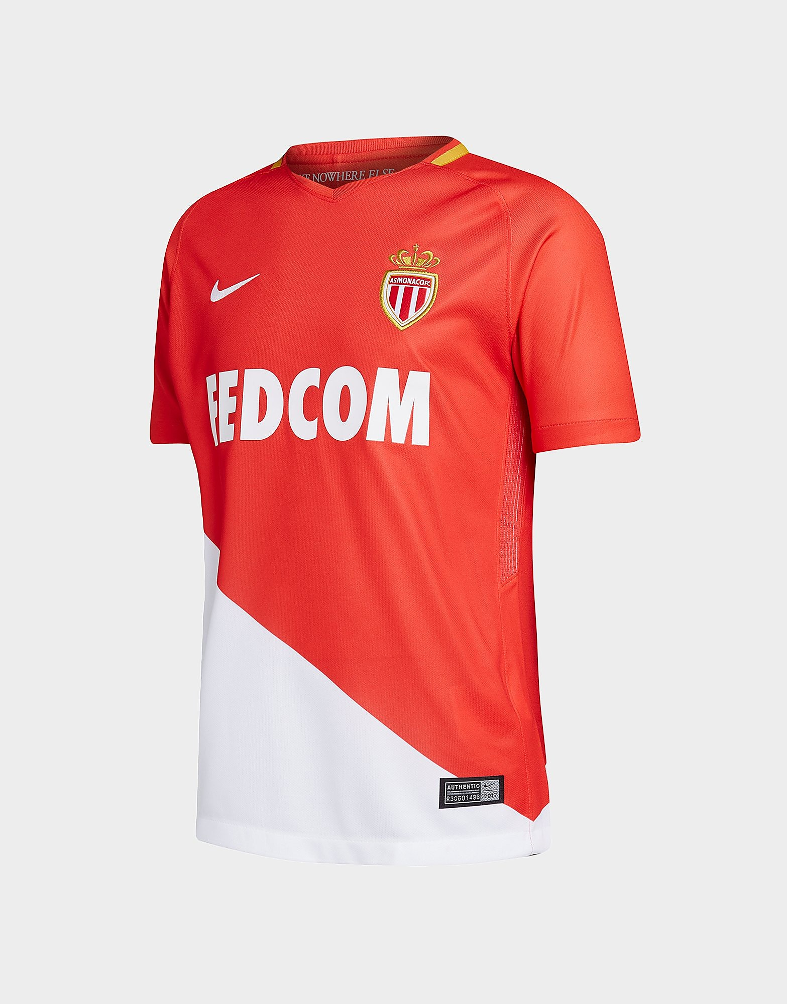 Nike Maillot Domicile AS Monaco 2017/18 Junior