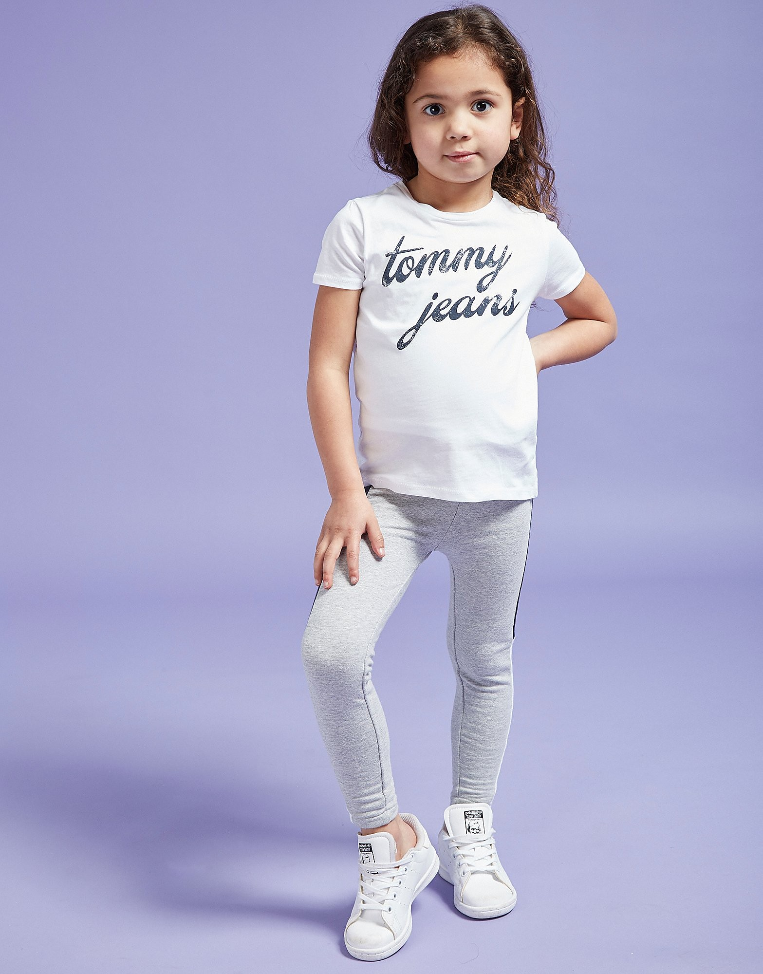 Tommy Hilfiger Girls' Logo Script T-Shirt Children