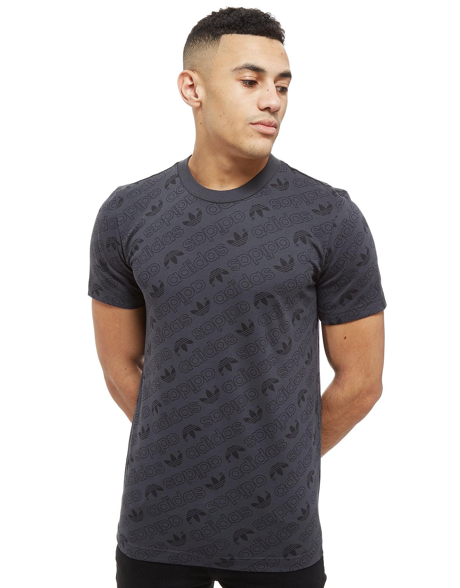 adidas Originals All Over Print T-Shirt Heren