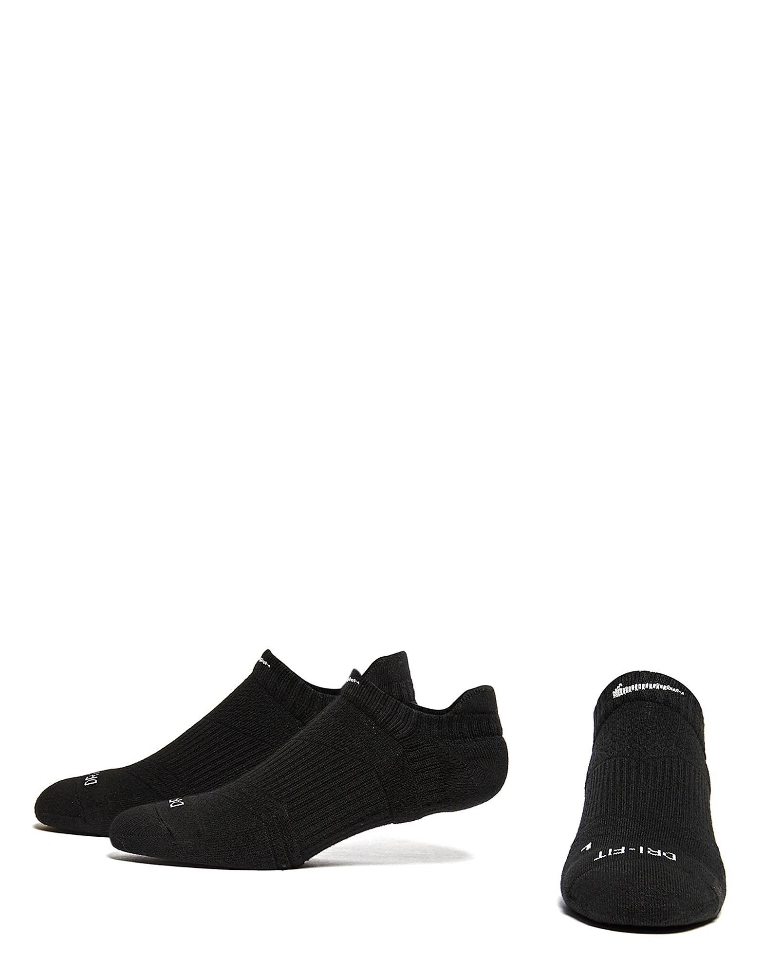 Nike 3 Pack Dri-FIT No-Show Socks