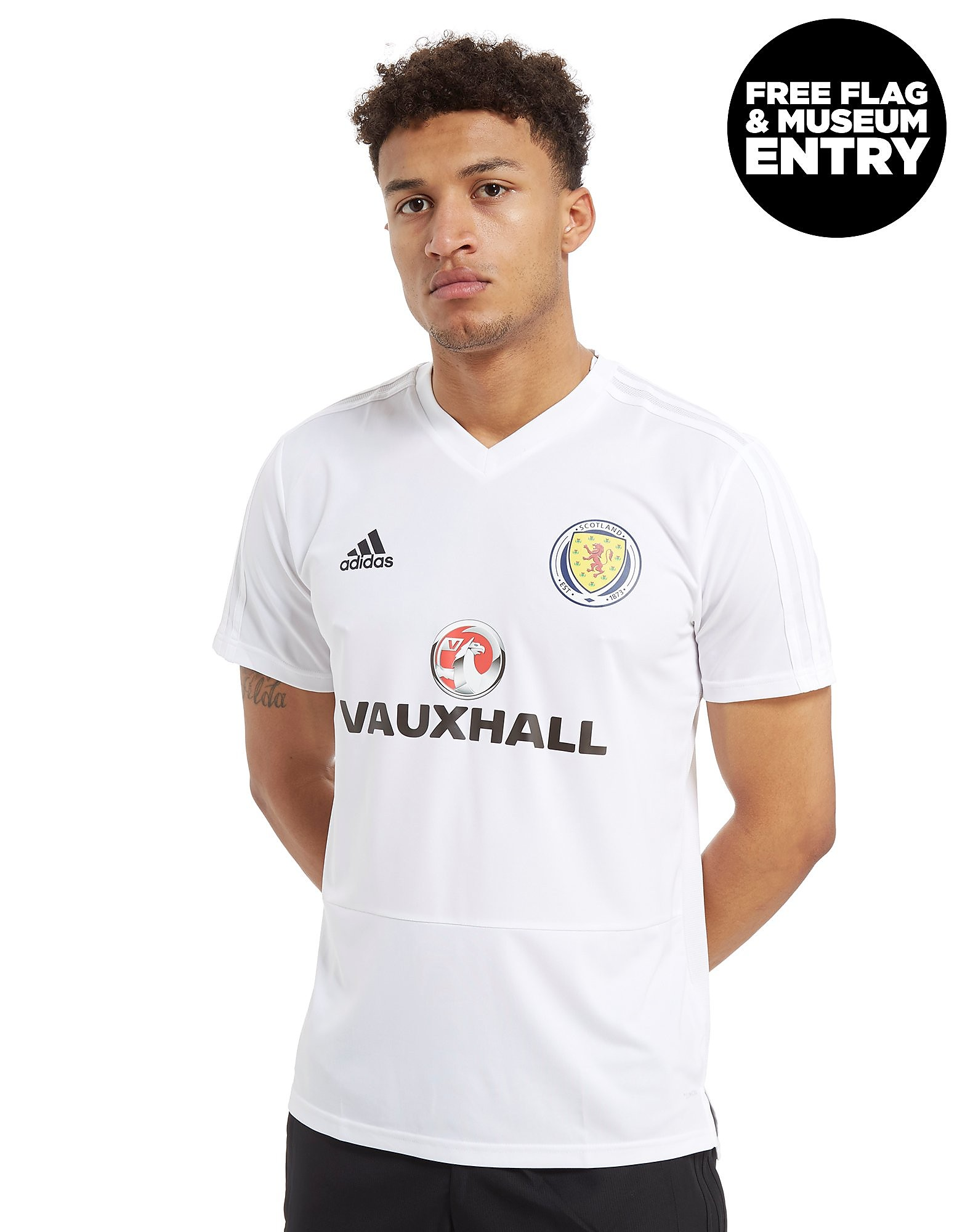 adidas Scotland FA 2018 Training Jersey Heren