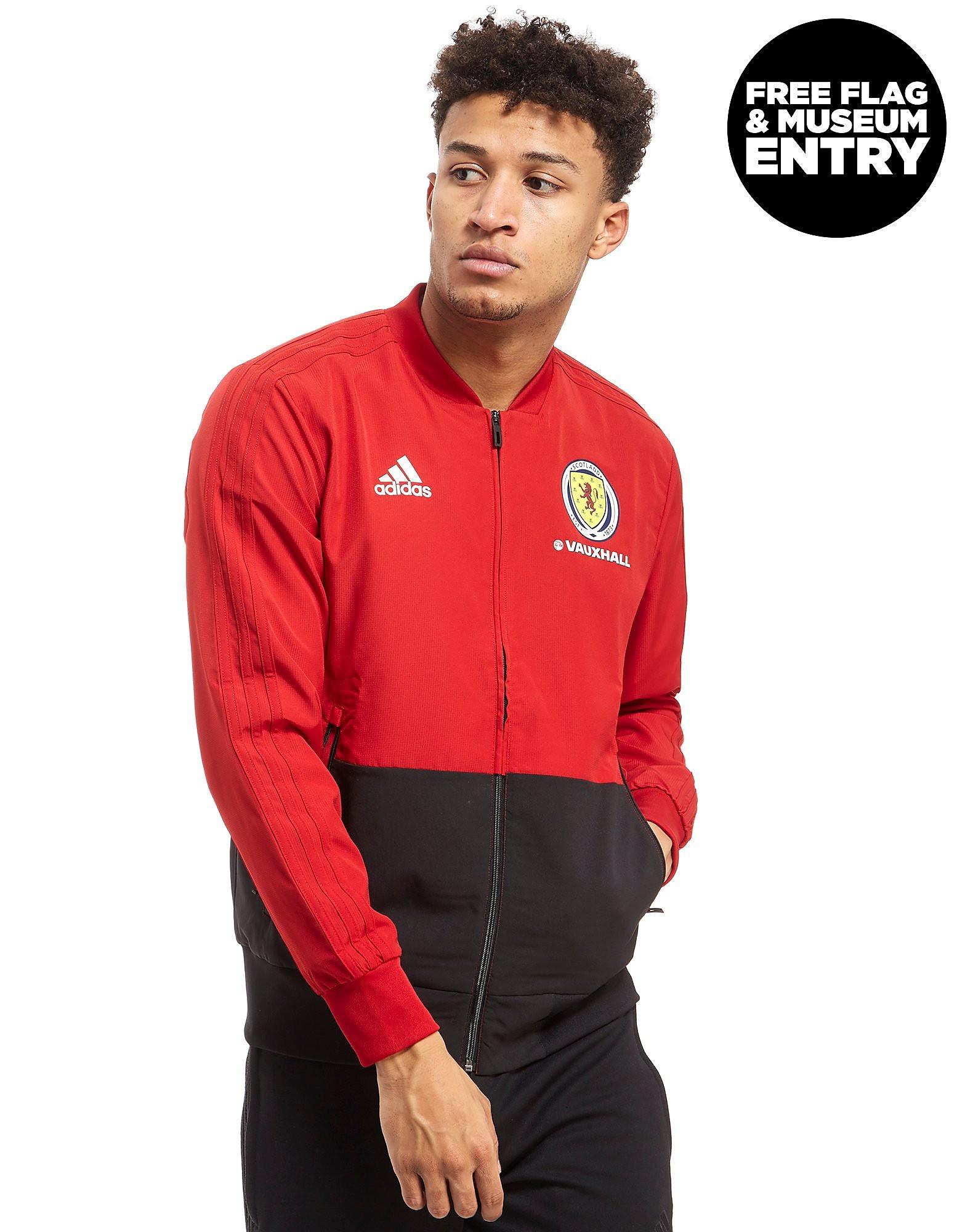 adidas Scotland FA 2018 Presentation Jacket