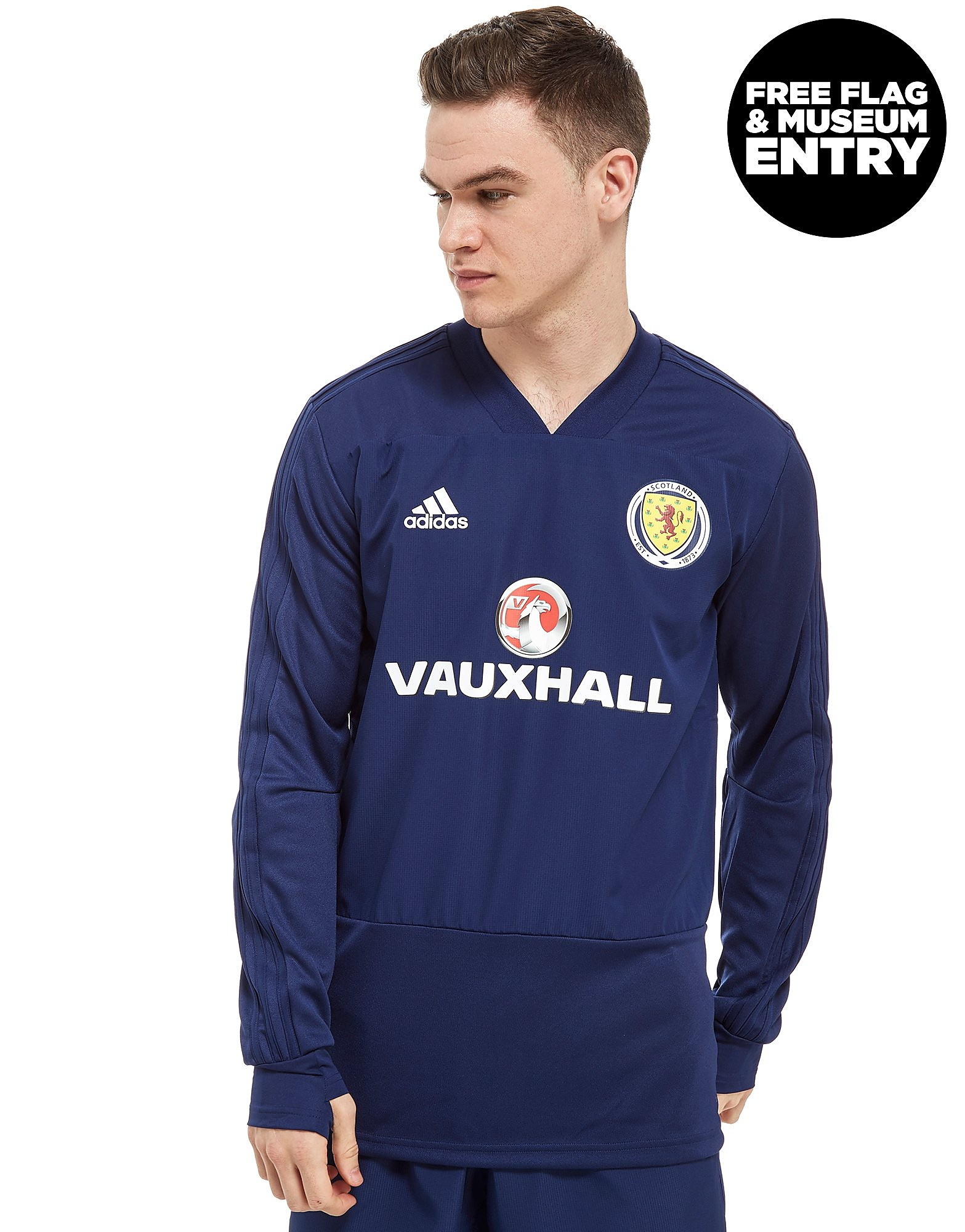 adidas Scotland FA 2018 Training Top Heren