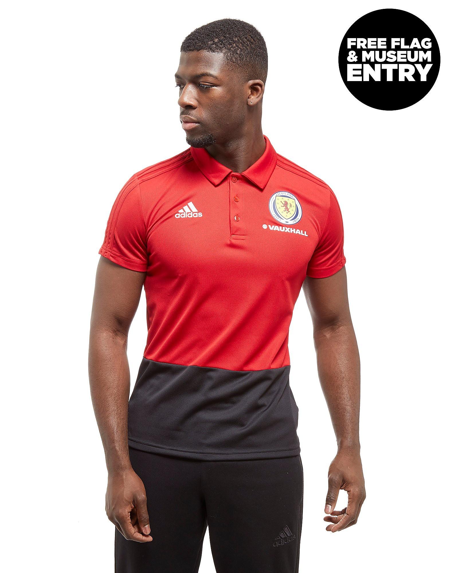 adidas Scotland FA 2018 Polo Shirt Homme