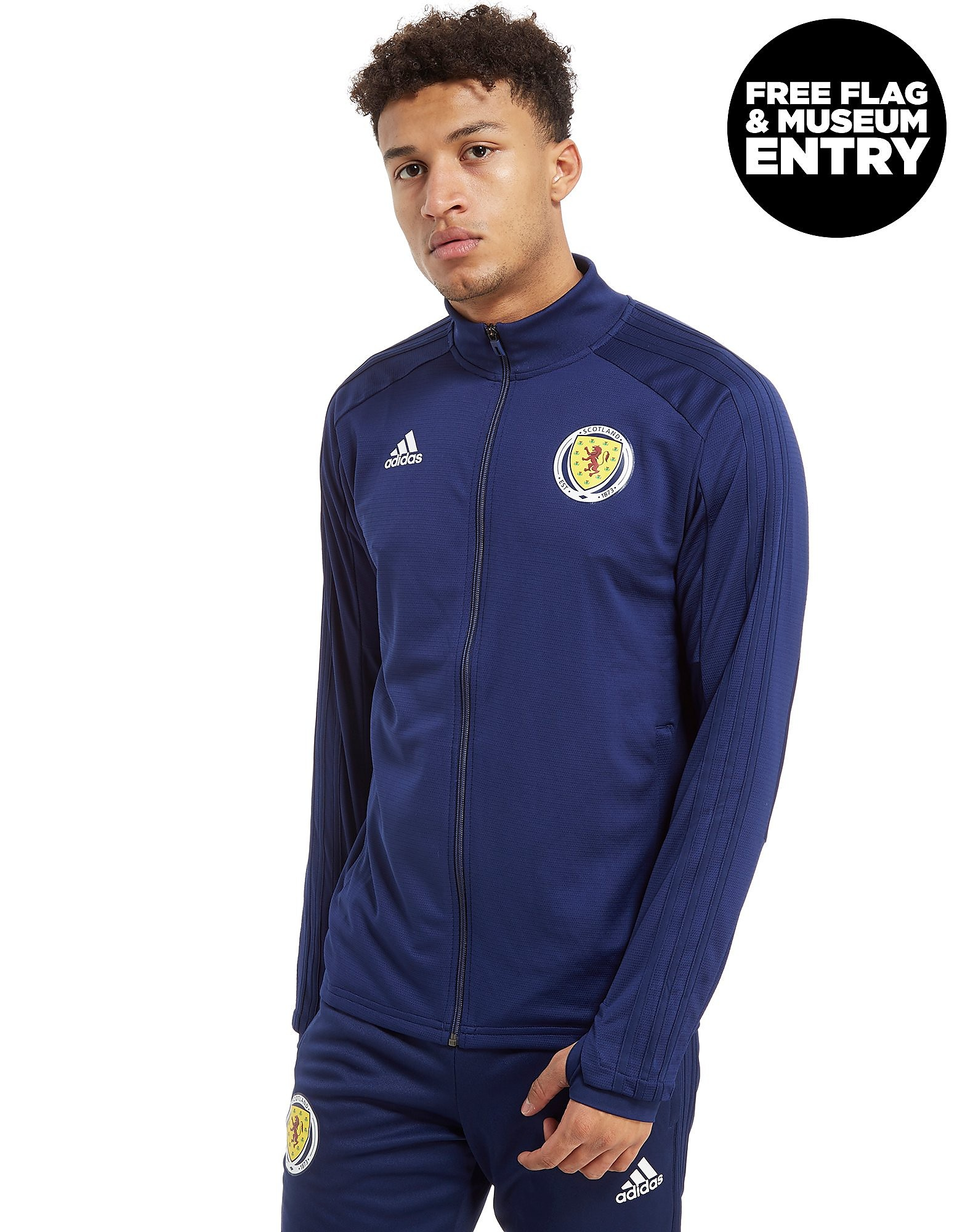 adidas Scotland FA 2018 Full Zip Track Top