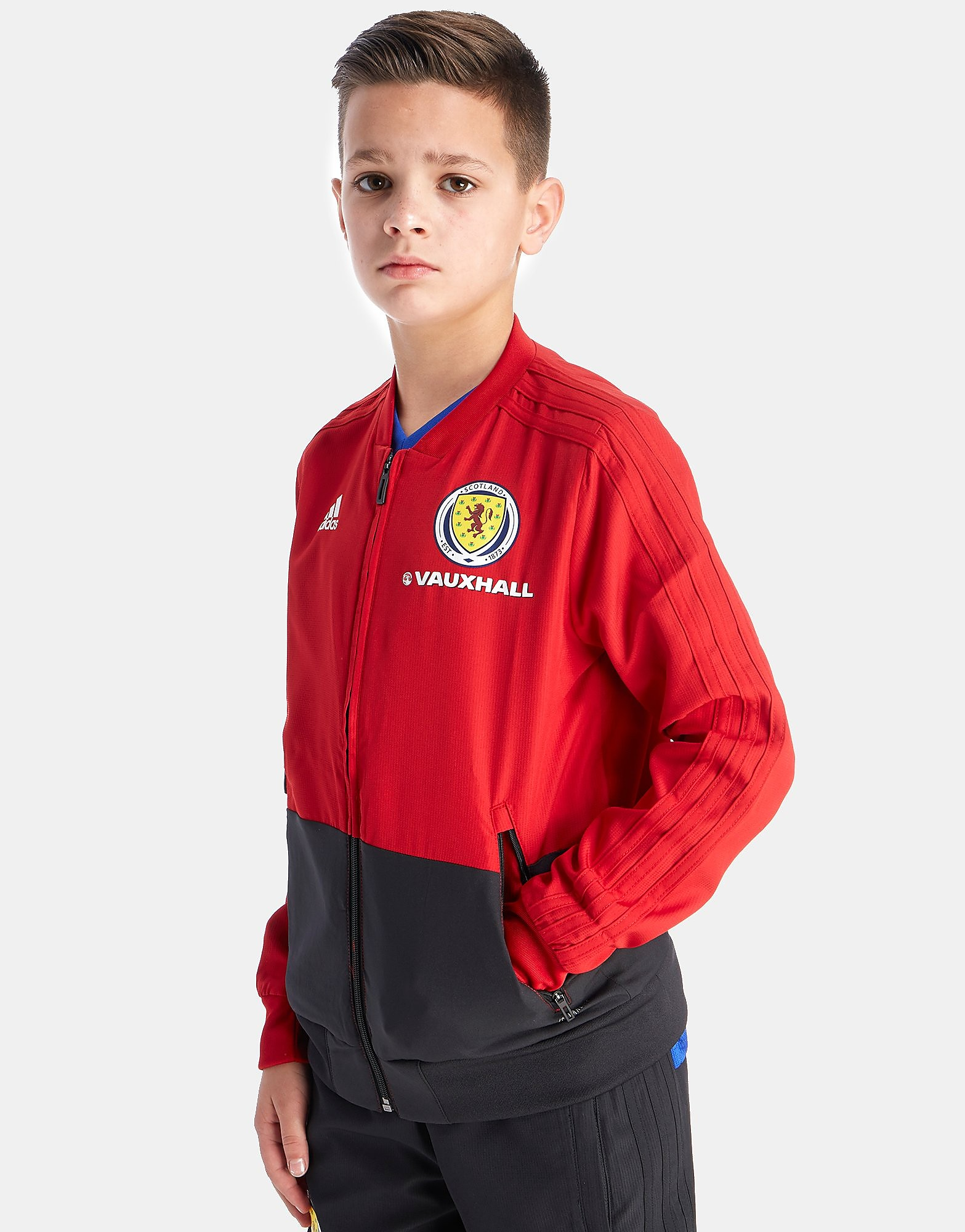 adidas Scotland FA 2018 Presentation Veste Junior