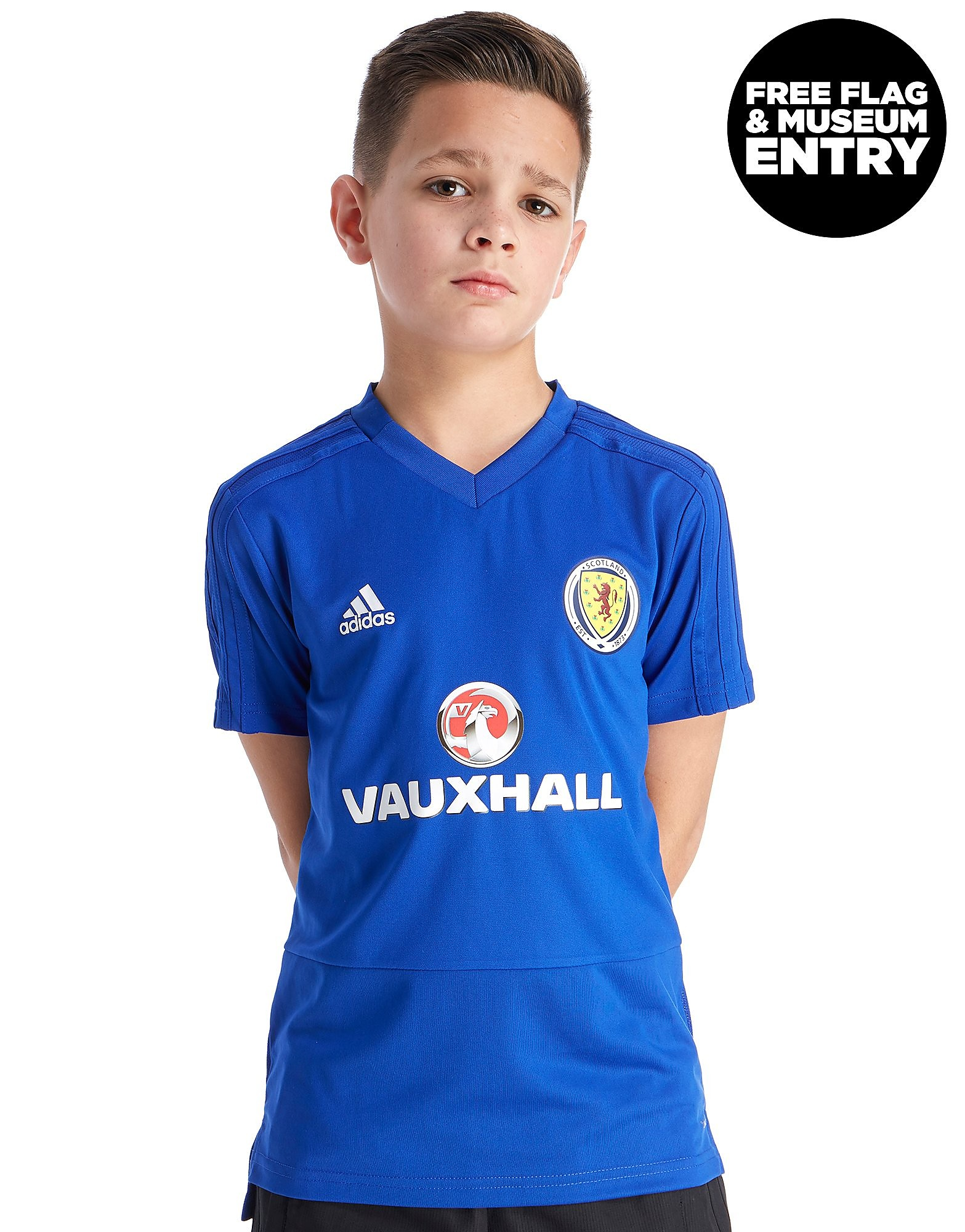 adidas Scotland FA 2018 Training Shirt Junior