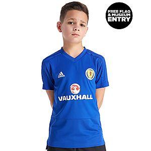7dd50d89bab7 adidas Scotland FA 2018 19 Training Shirt Junior ...
