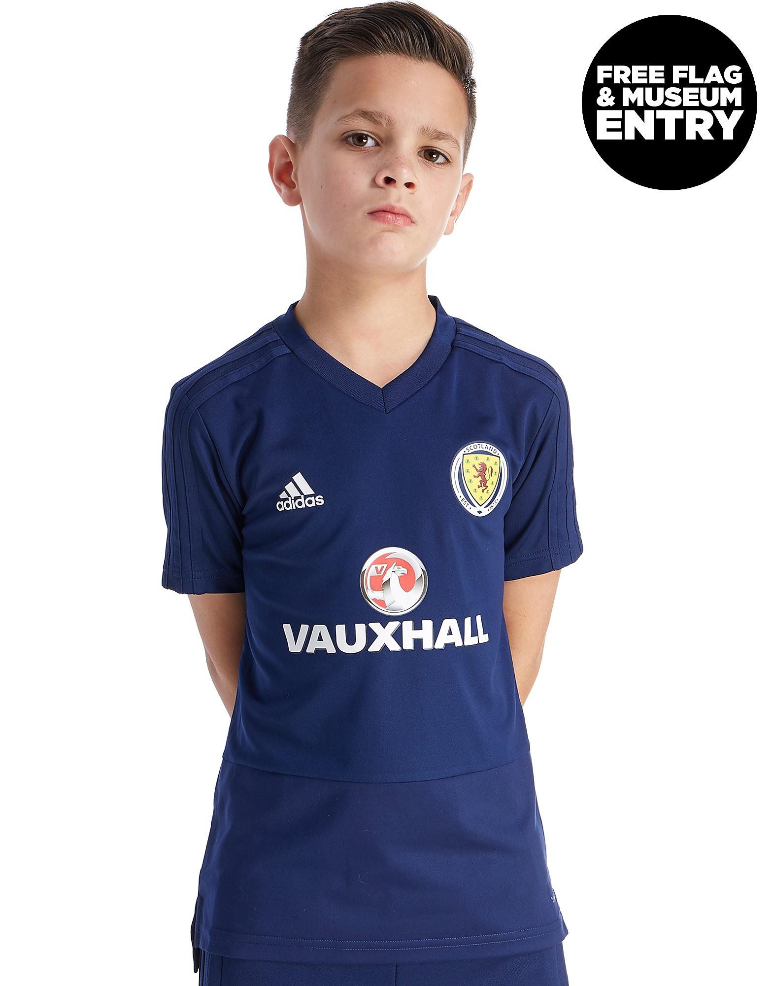 adidas Scotland FA 2018 Training Shirt Junior - Blauw - Kind