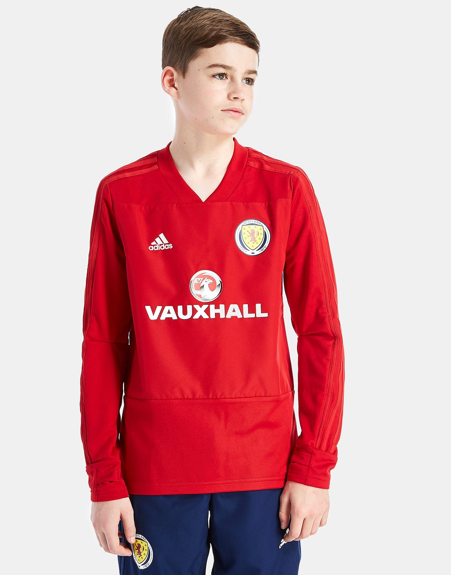 adidas Scotland FA 2018 Training Top Junior