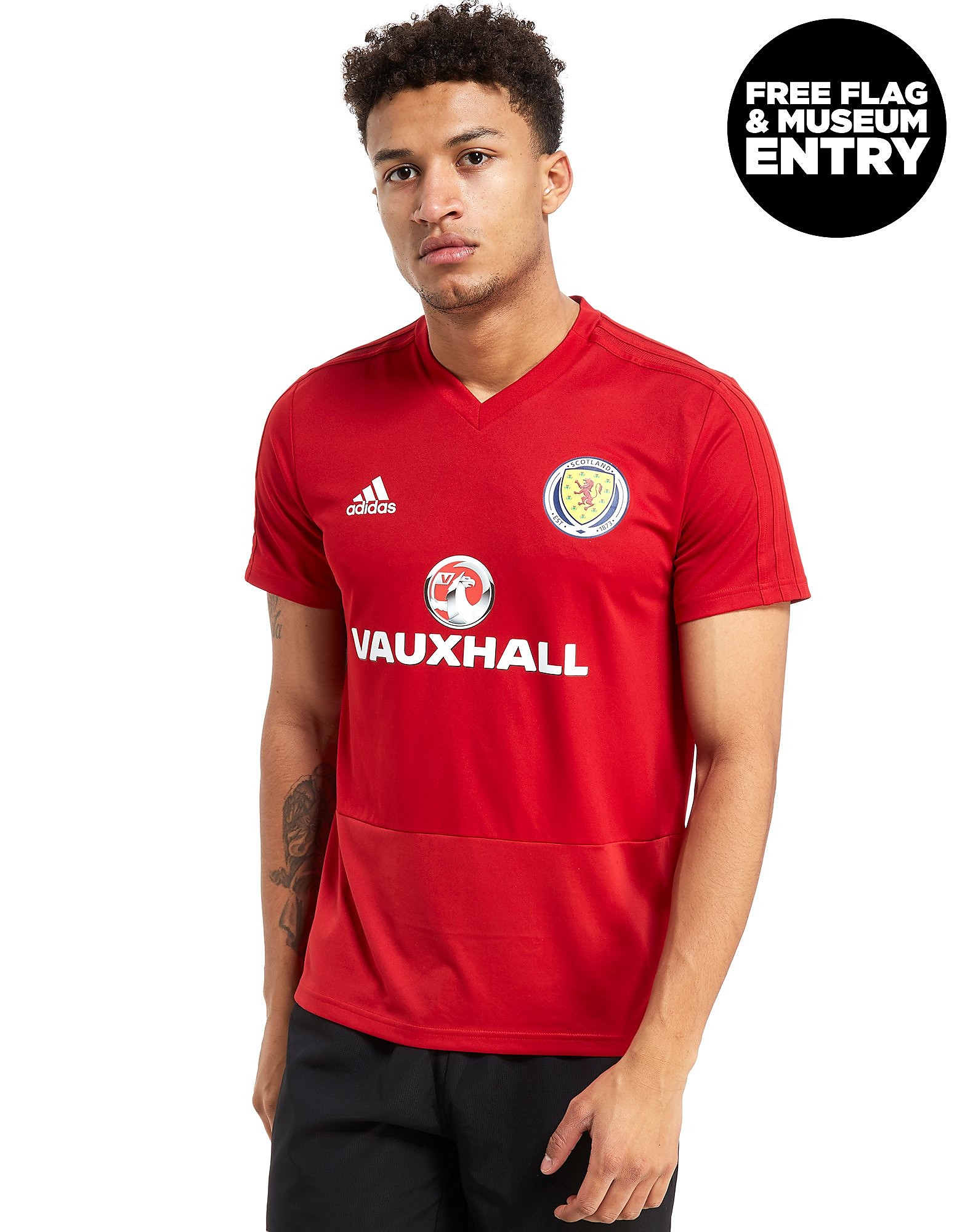adidas Scotland FA 2018 Training Shirt Heren
