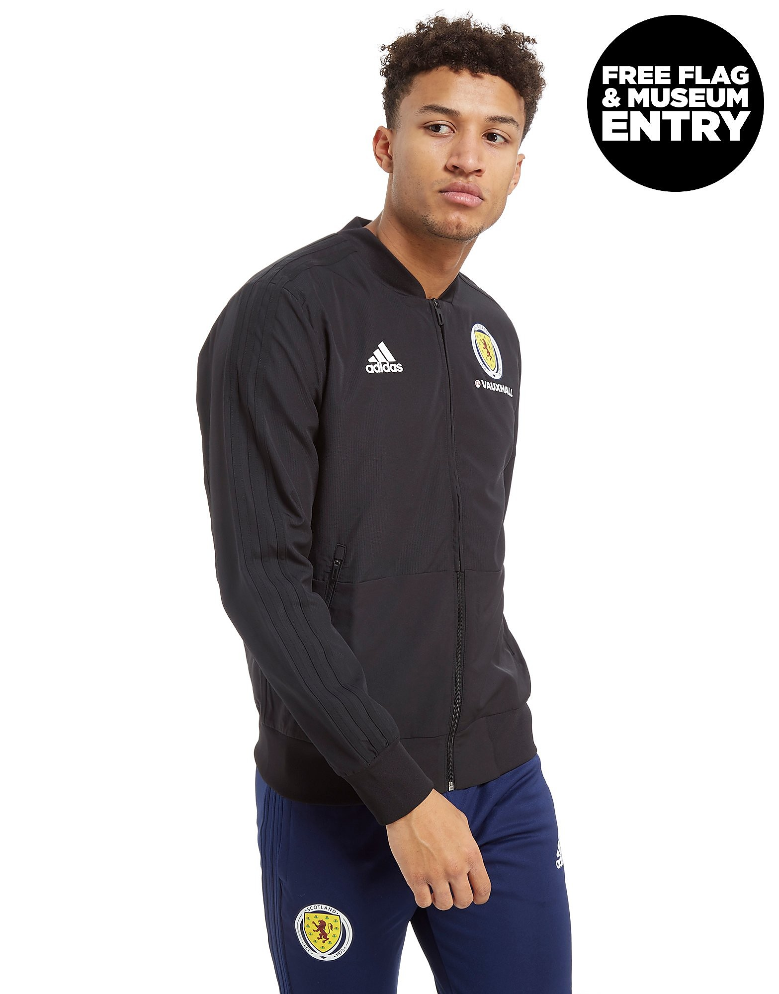 adidas Scotland FA 2018 Presentation Jacket Heren