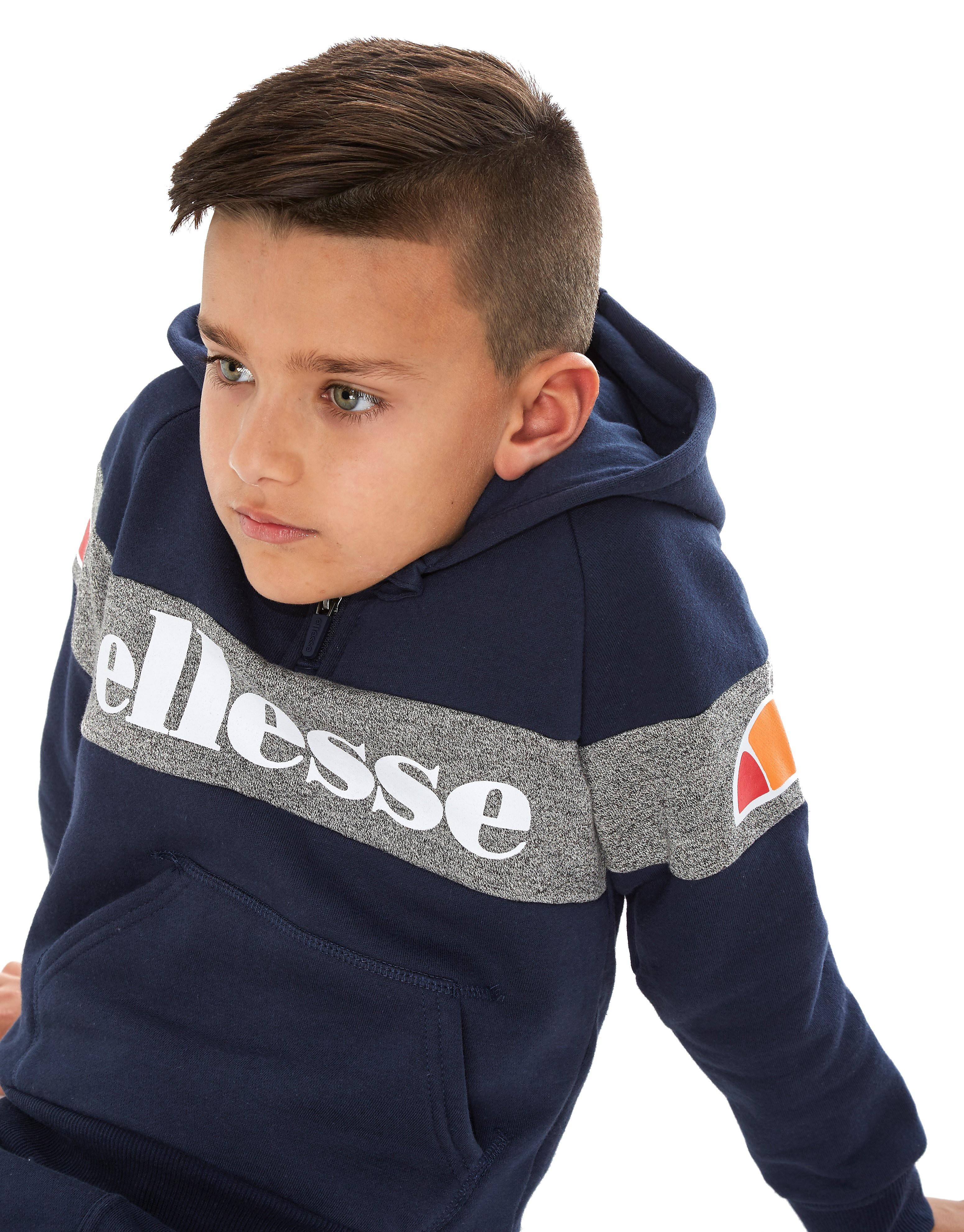 Ellesse Prozolo 1/4 Zip Tracksuit Children