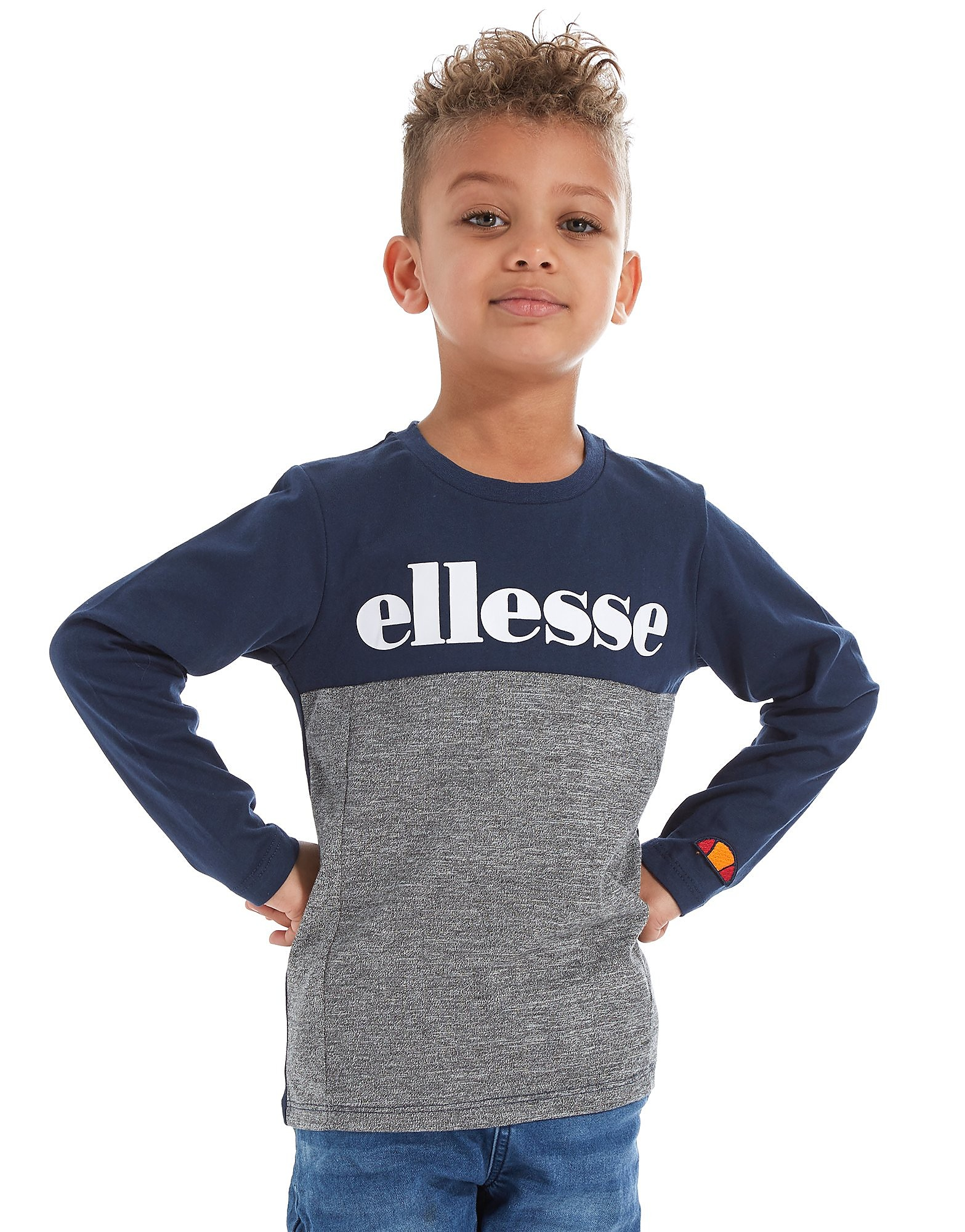 Ellesse Mezzo Long Sleeve T-Shirt Children