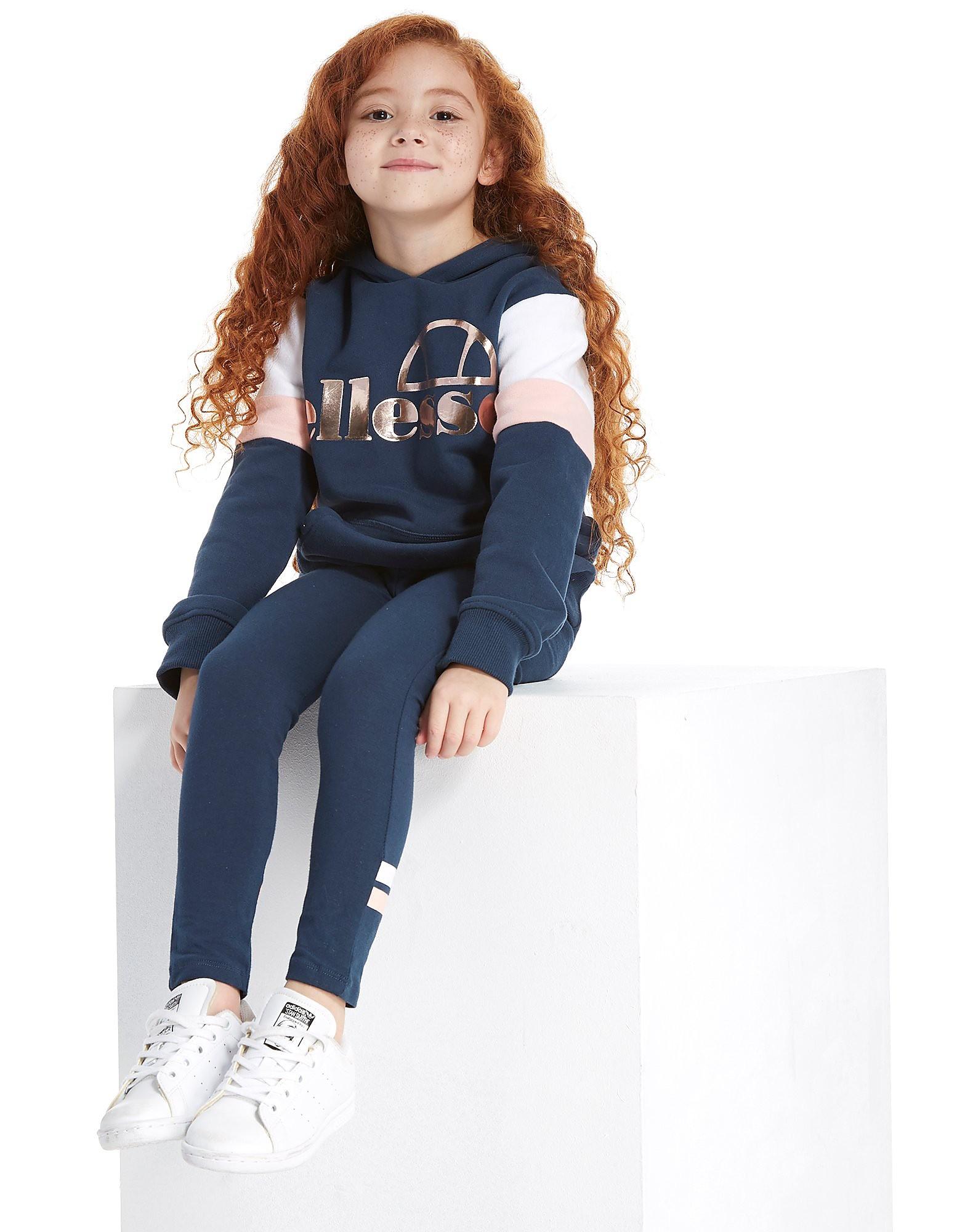 Ellesse Doria Completo Felpa e Leggings Bambina