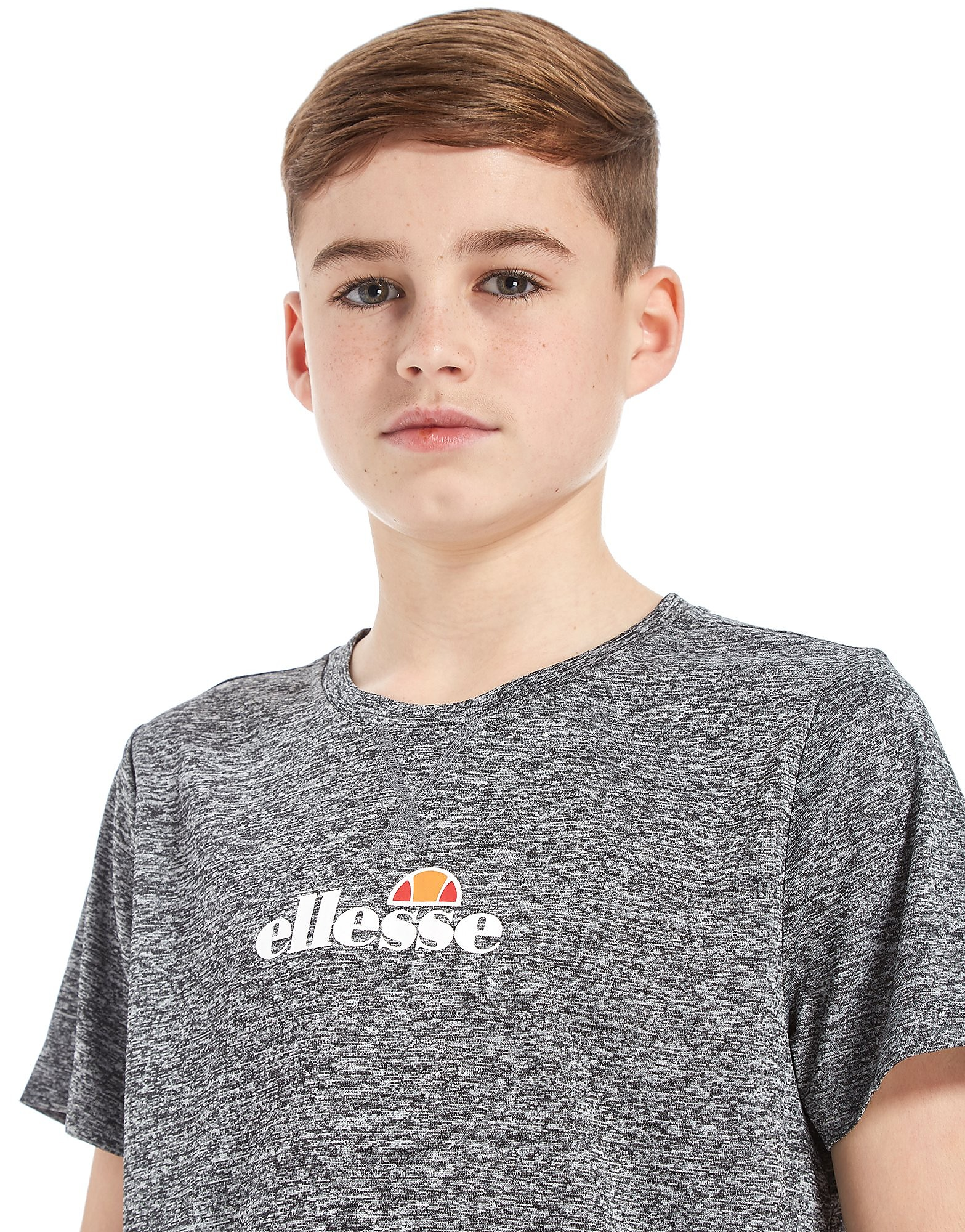 Ellesse Poly Drop Hem T-Shirt Junior