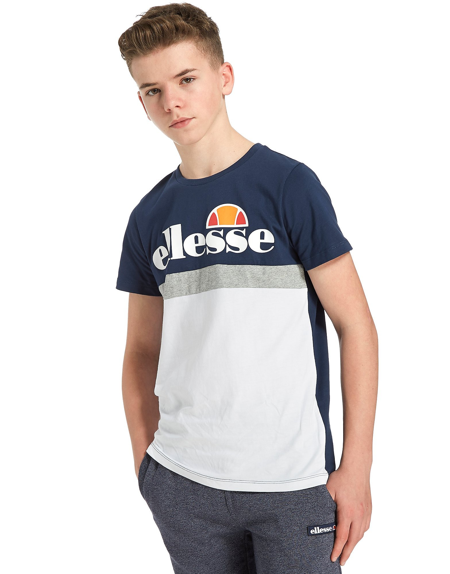 Ellesse Farbblock Jersey T-Shirt Junior