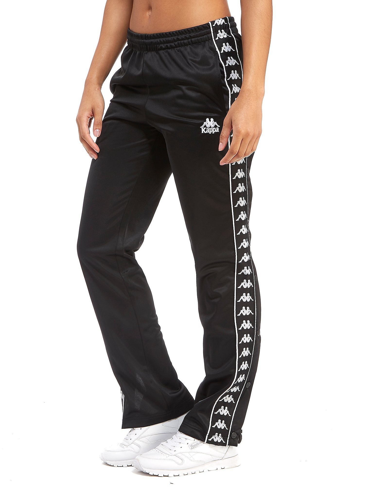 Kappa Tape Popper Track Pants