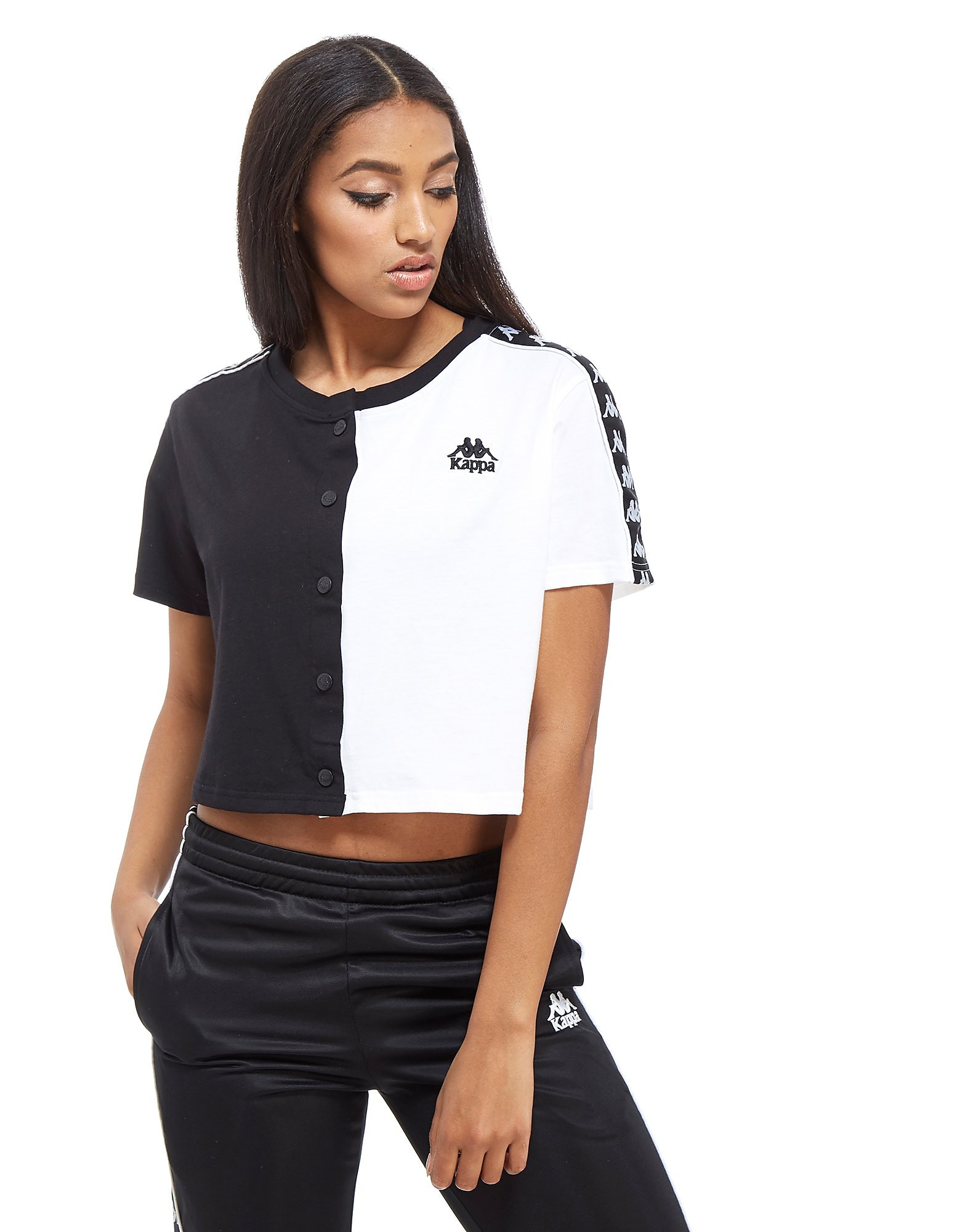 Kappa Popper Crop T-Shirt