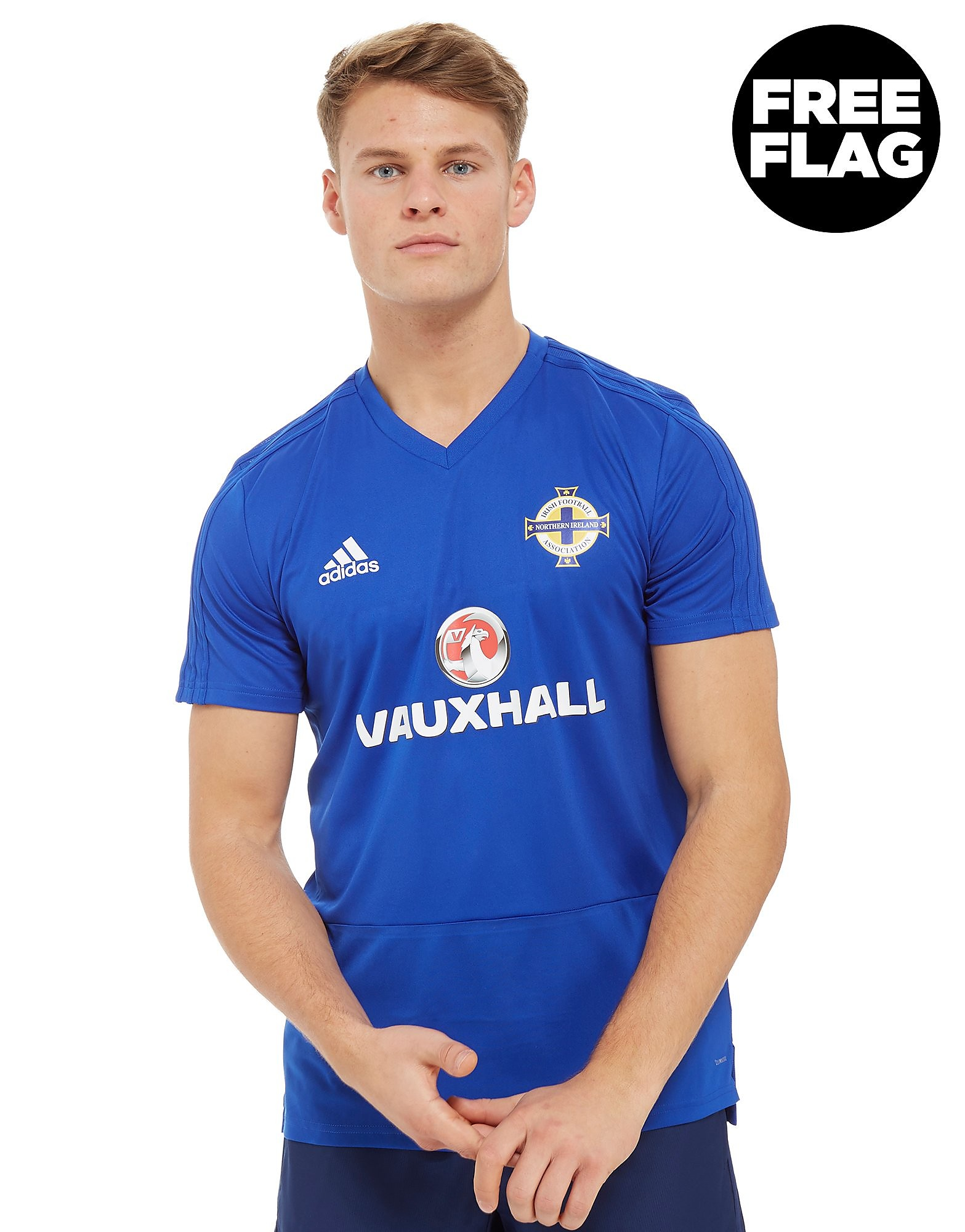 adidas Northern Ireland 2018 Training Shirt Heren