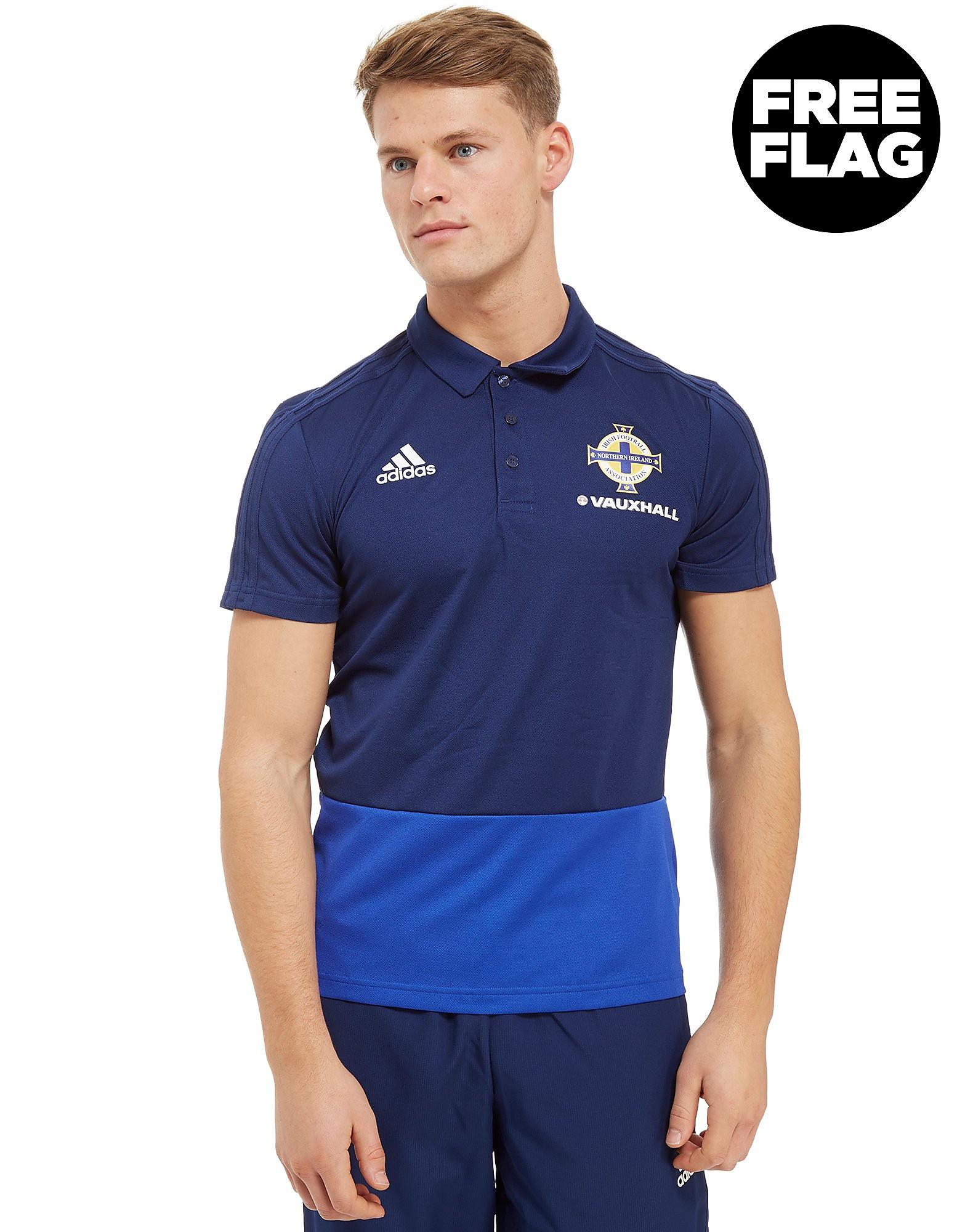 adidas Northern Ireland FA 2018 Polo Shirt Heren - Blauw - Heren