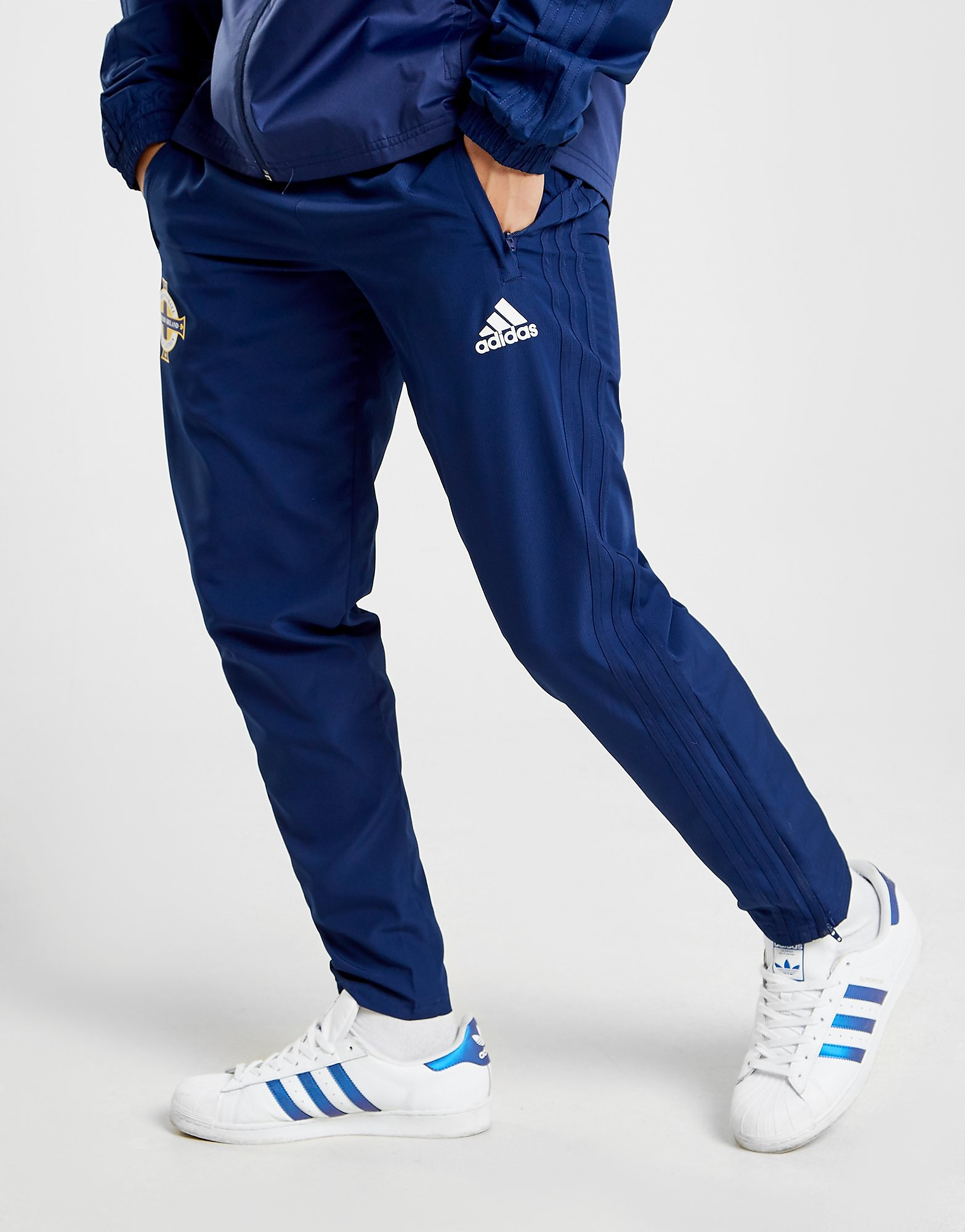 adidas Northern Ireland FA 2018 Woven Pants Heren