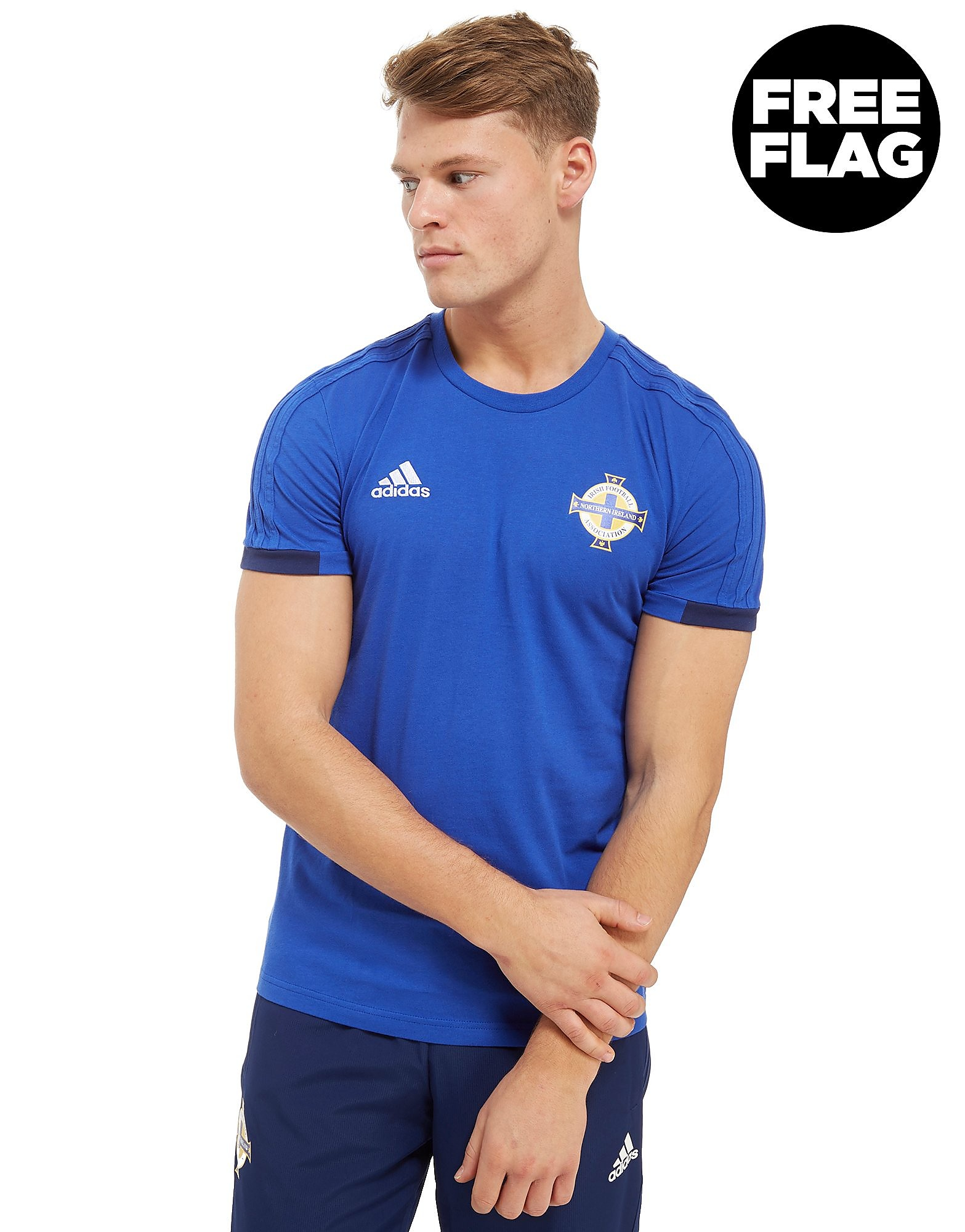 adidas Northern Ireland FA 2018 T-Shirt Heren