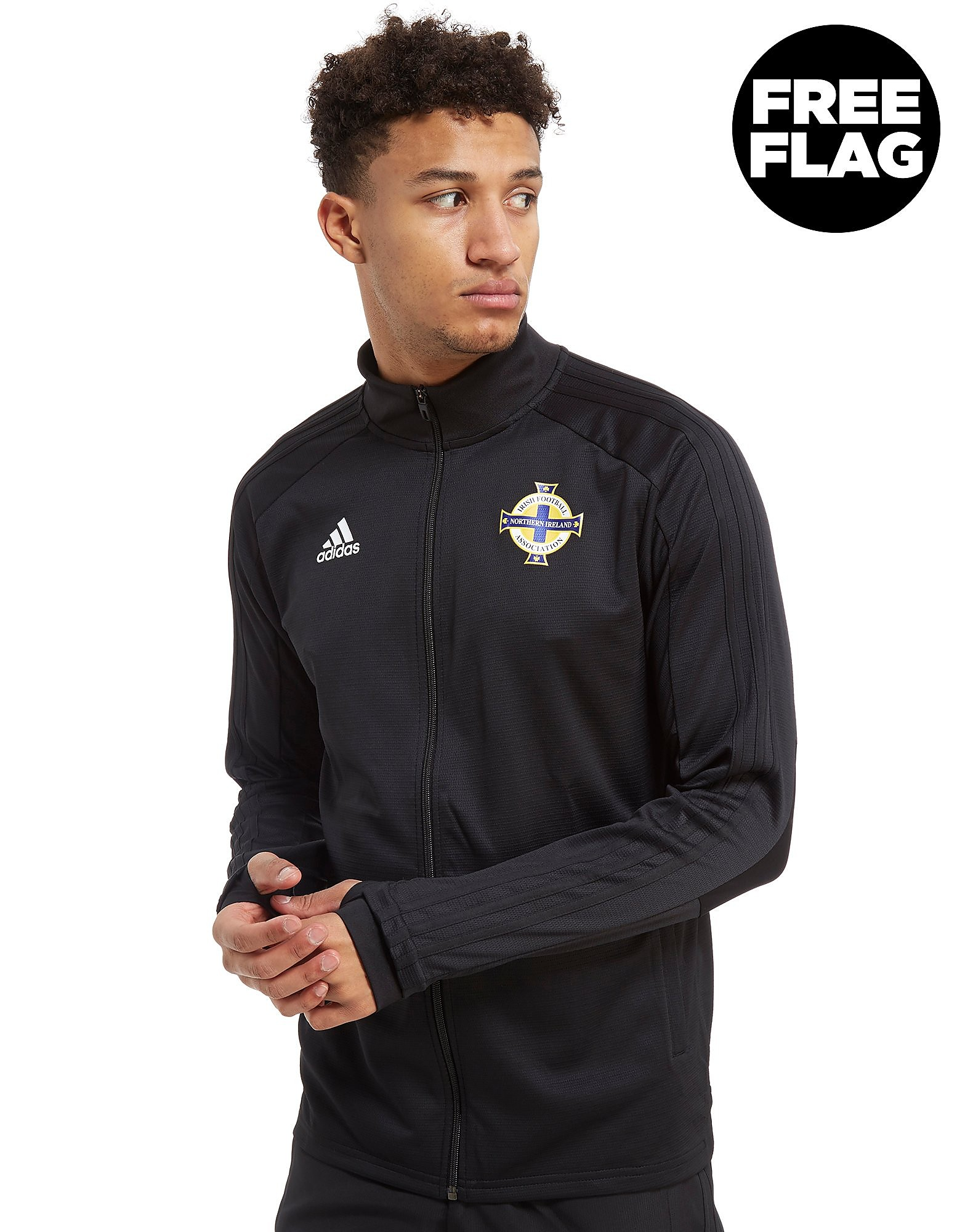 adidas Northern Ireland 2018 Full Zip Track Top