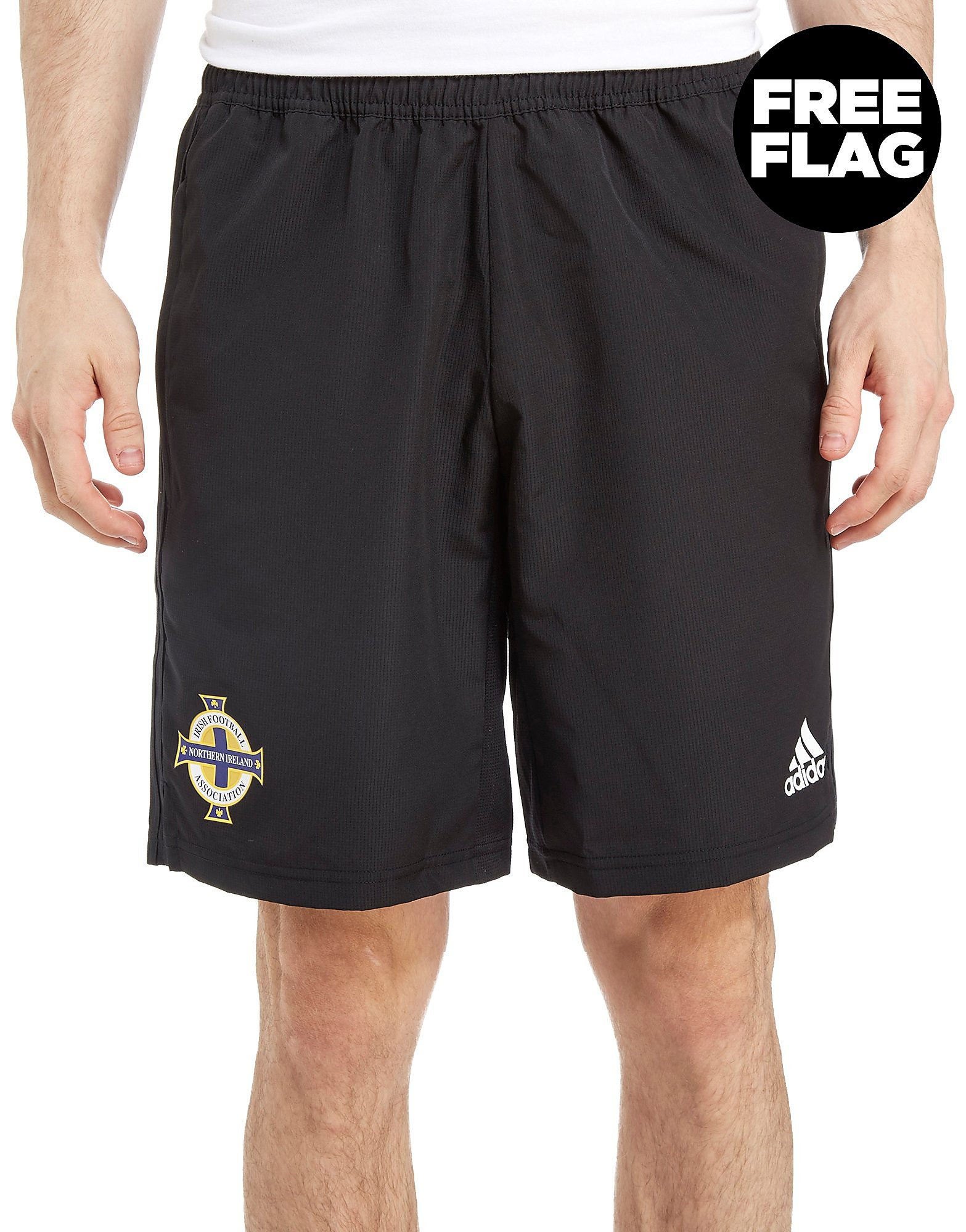 adidas Northern Ireland FA 2018 Woven Shorts