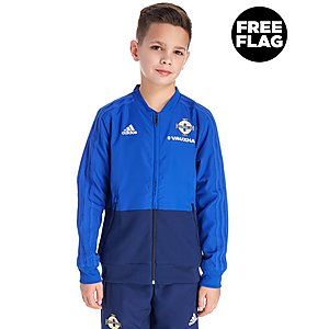b25954bd628d adidas Northern Ireland 2018/19 Presentation Jacket Jnr ...