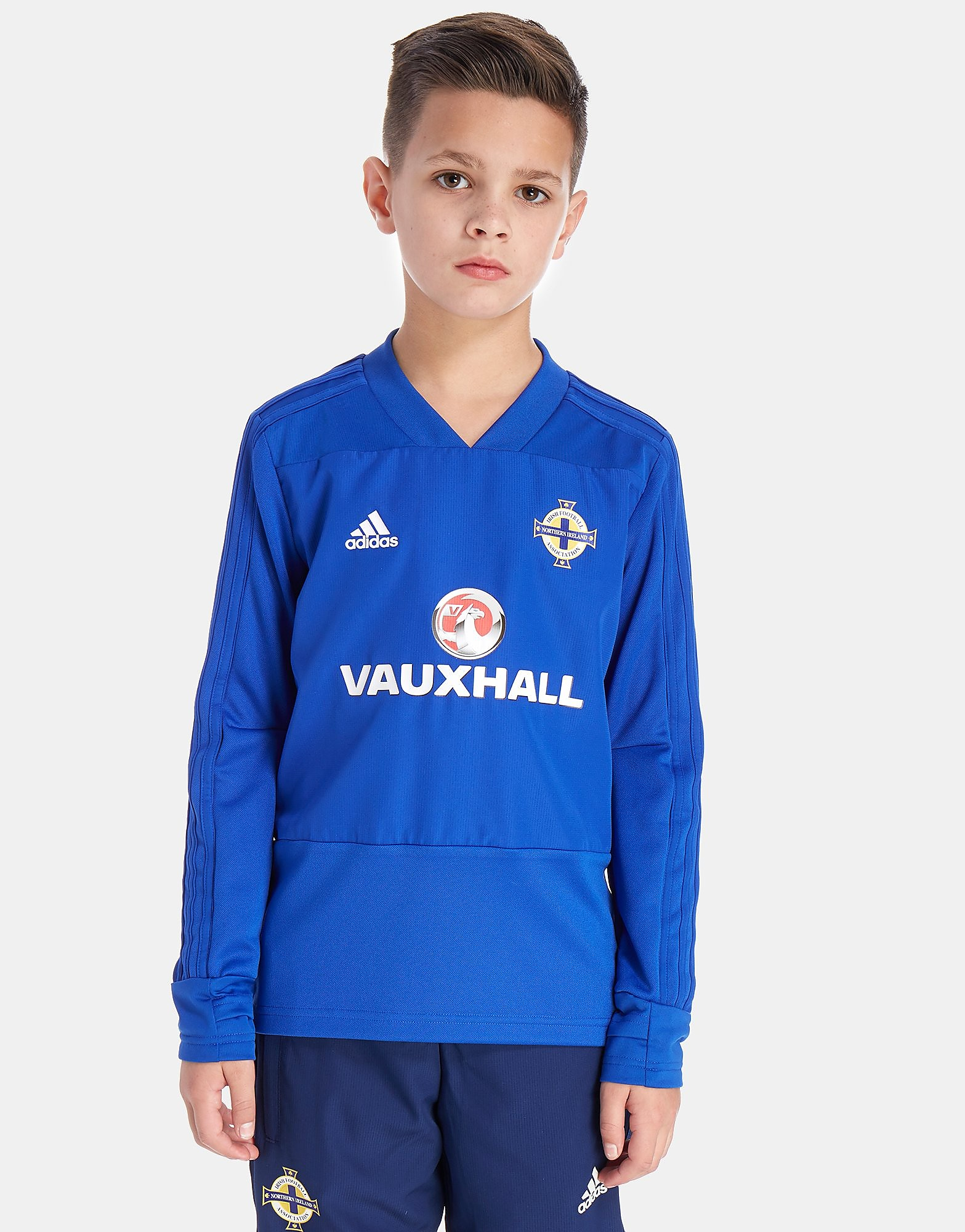 adidas Northern Ireland FA 2018 Training Top Junior - Blauw - Kind