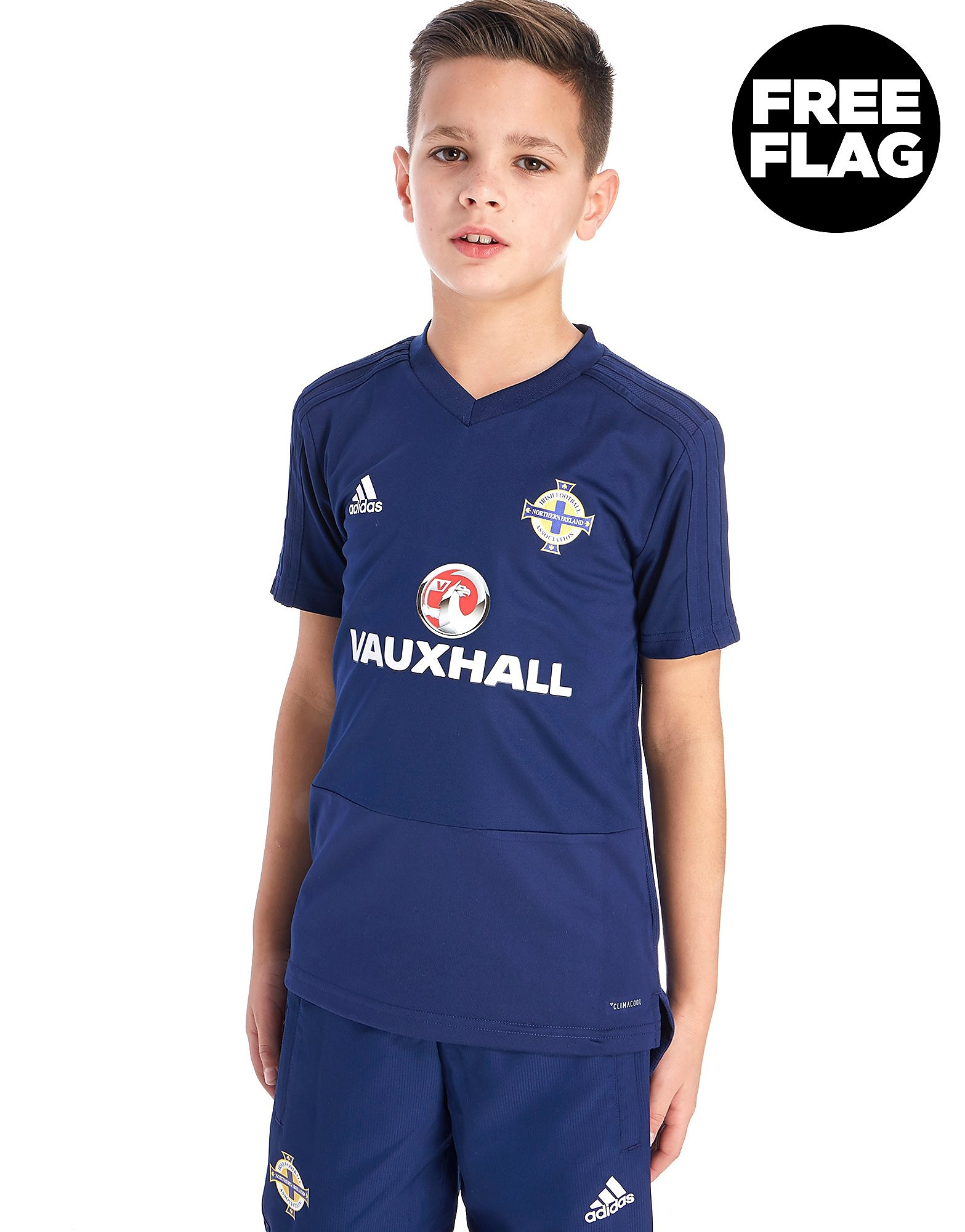 adidas Irlanda del Nord FA 2018 Maglia Training Junior