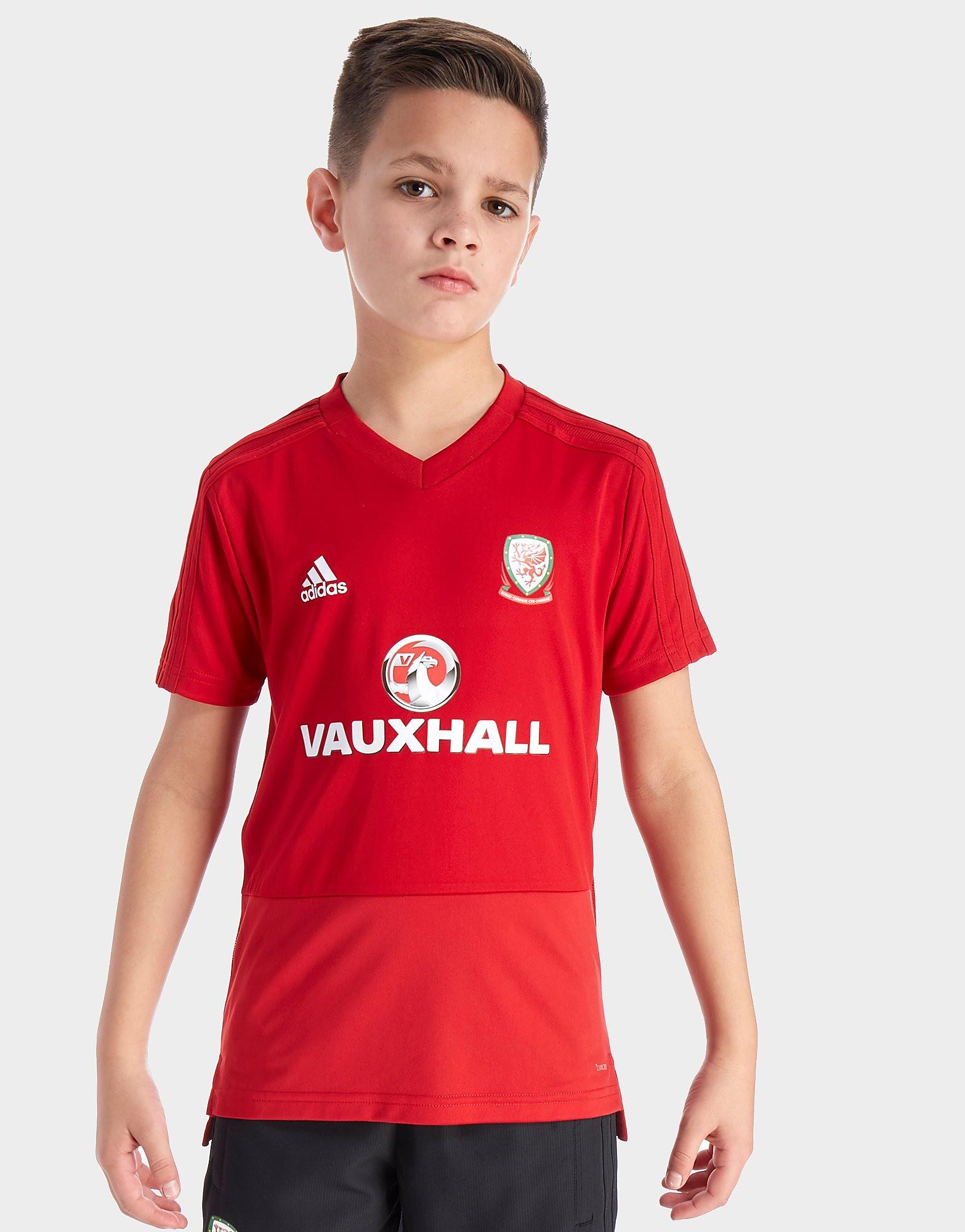 adidas FA Wales 2018 Training Shirt Junior