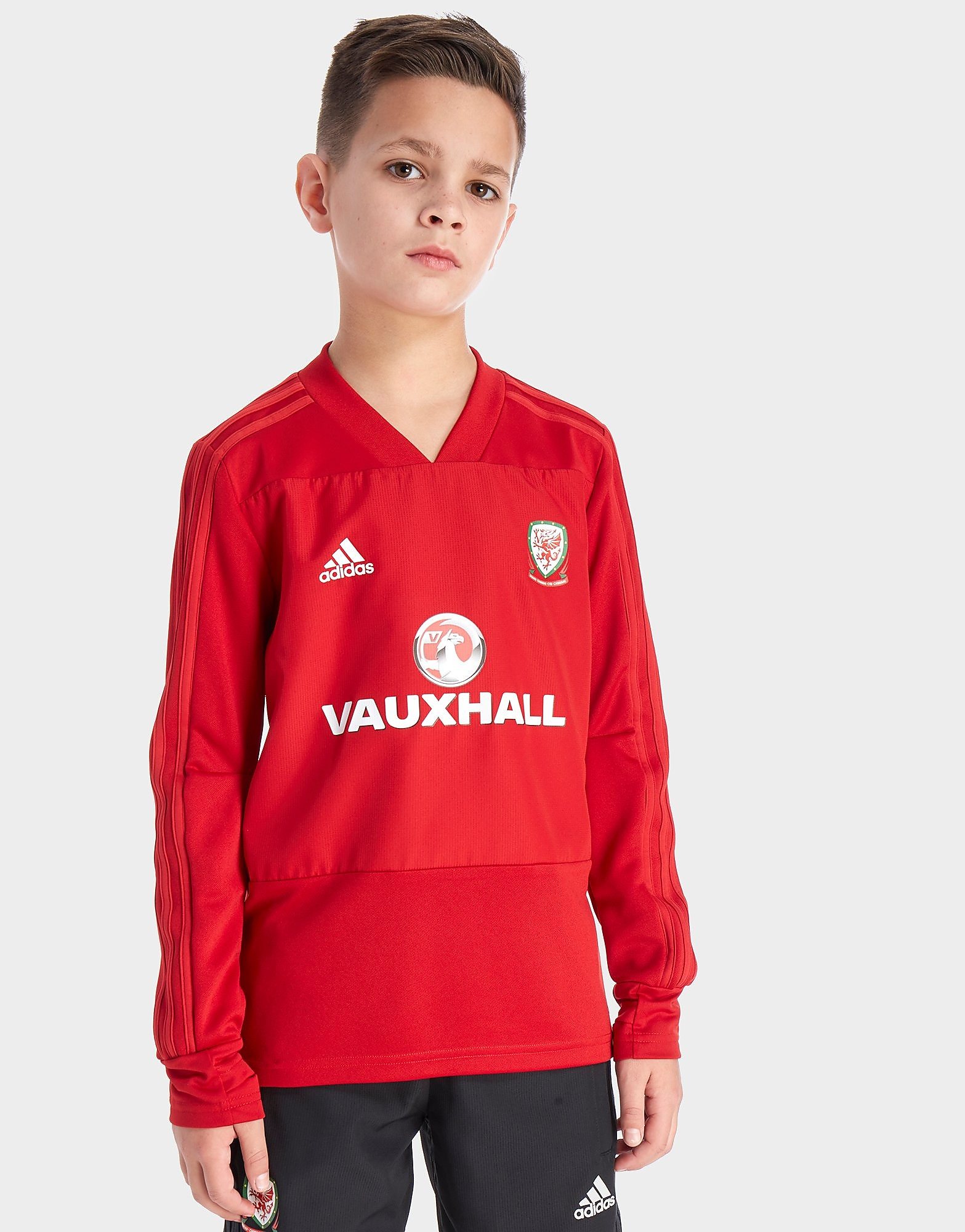 adidas FA Wales 2018 Training Top Junior