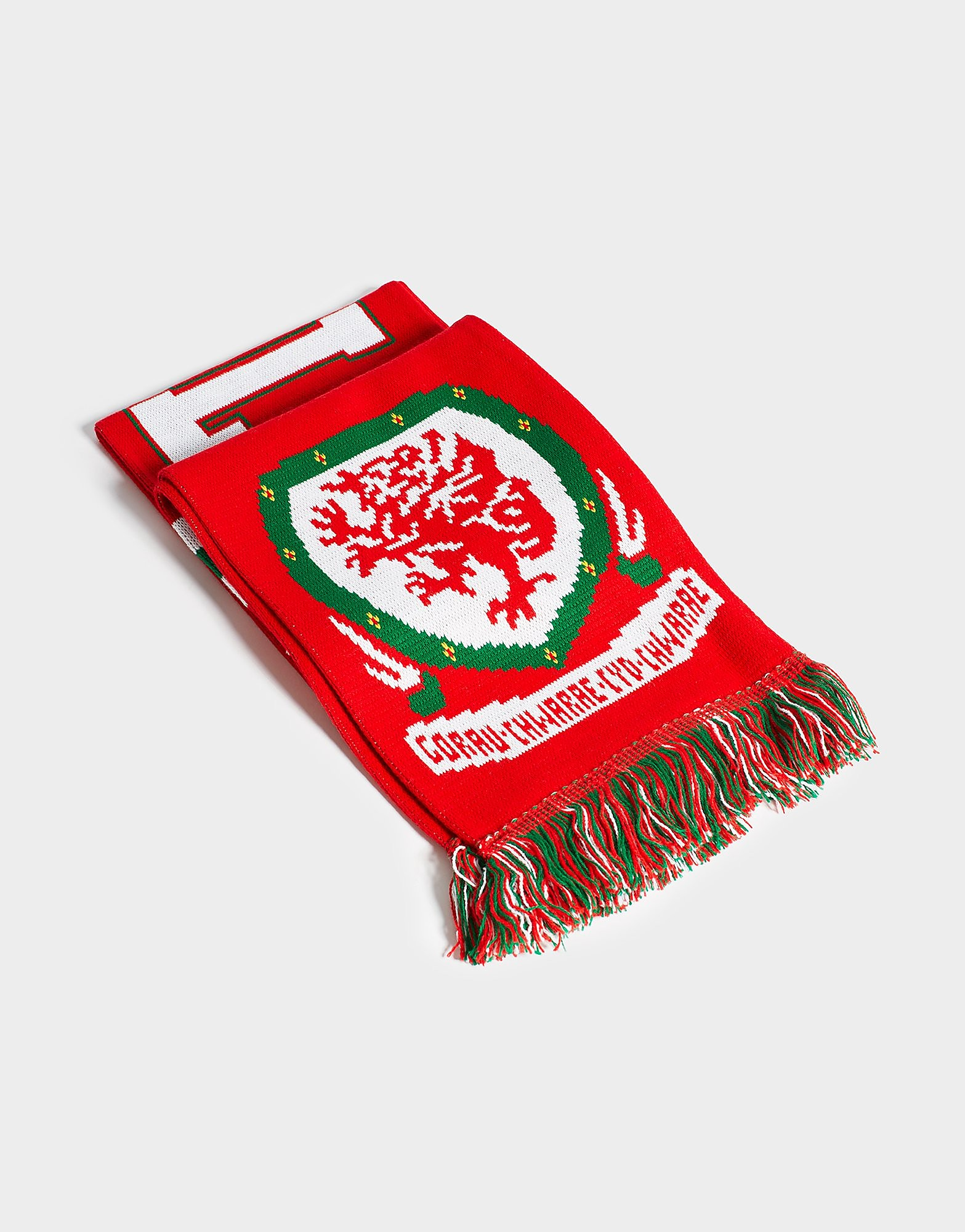 Official Team Wales Jacquard sjaal