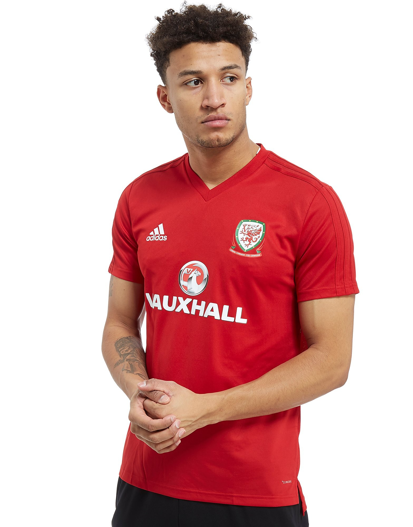adidas FA Wales 2018 Training Shirt