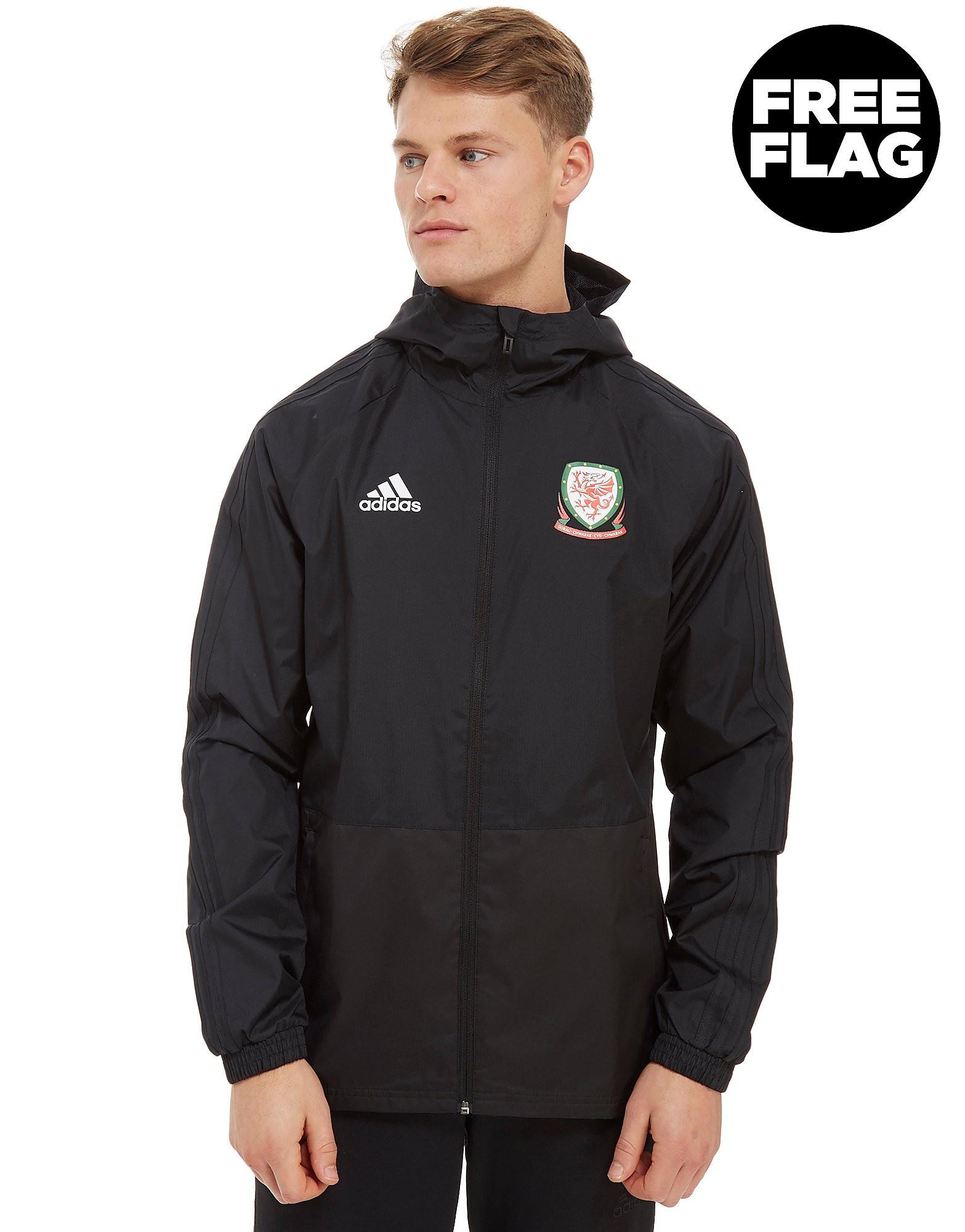 adidas FA Wales 2018 Rain Jacket