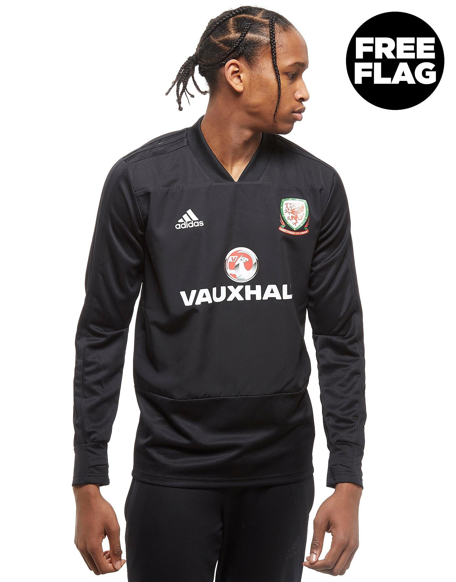 adidas camiseta de entrenamiento FA Gales 2018