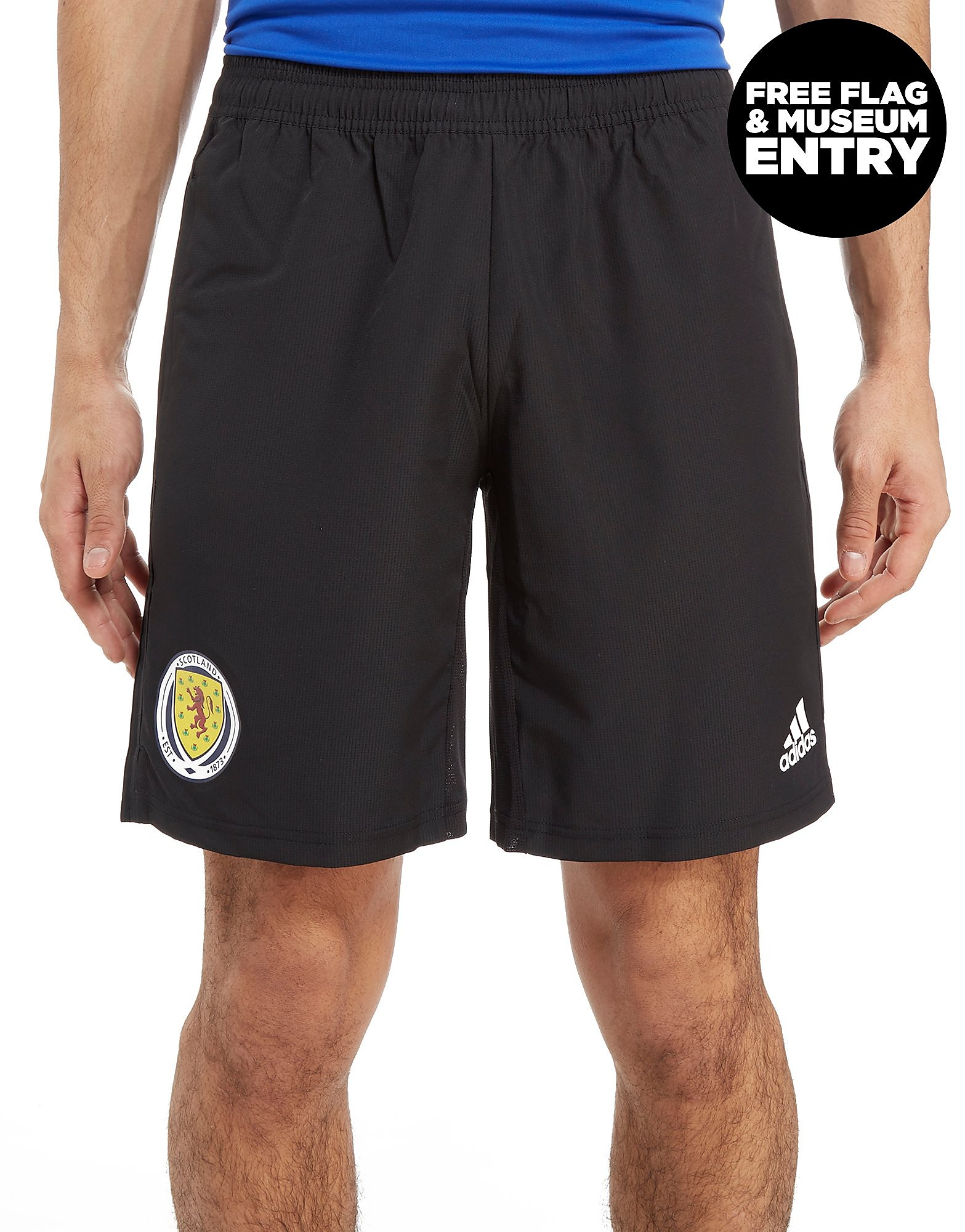 adidas Scotland FA 2018 Woven Shorts Heren