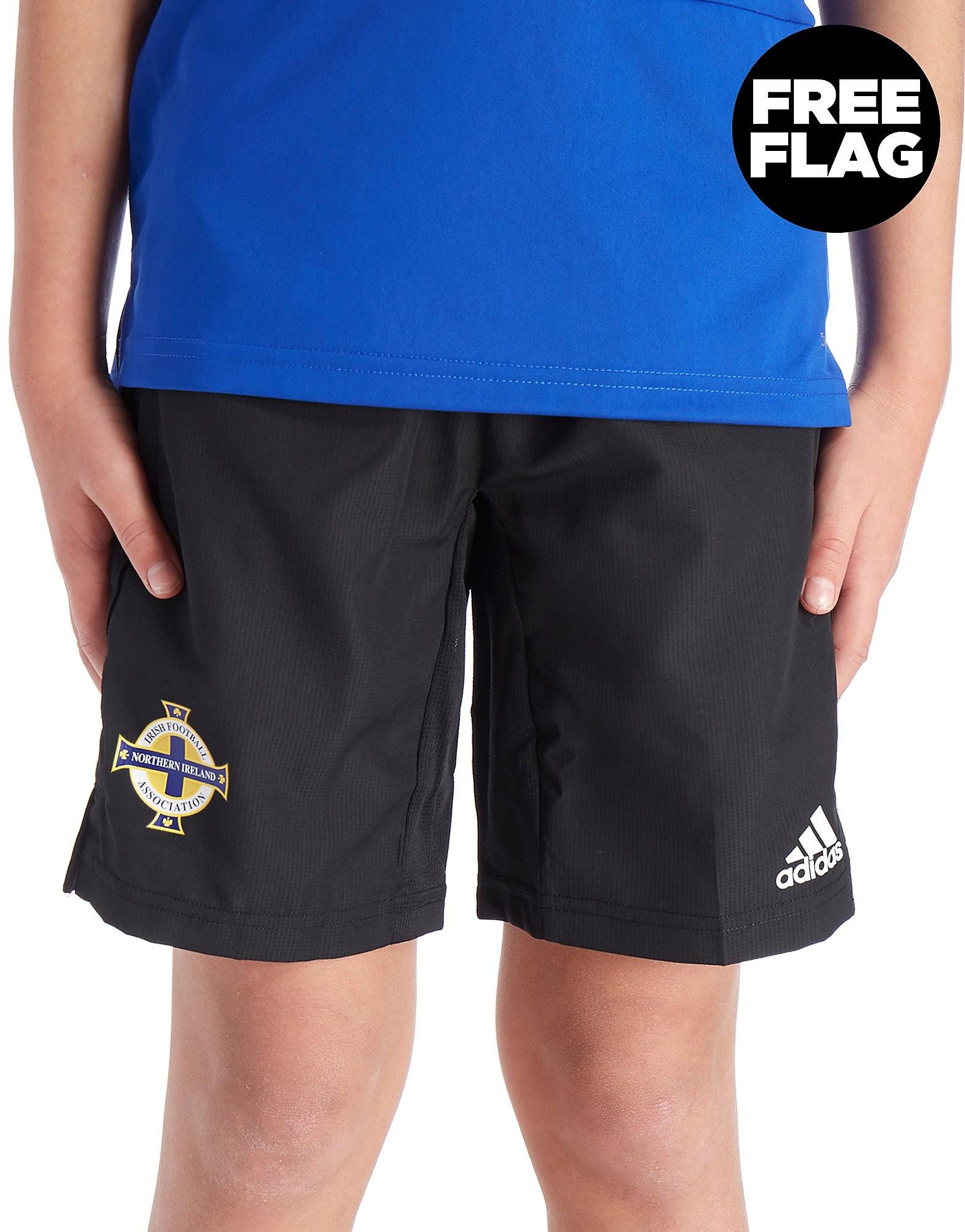 adidas Northern Ireland FA 2018 Woven Shorts Junior
