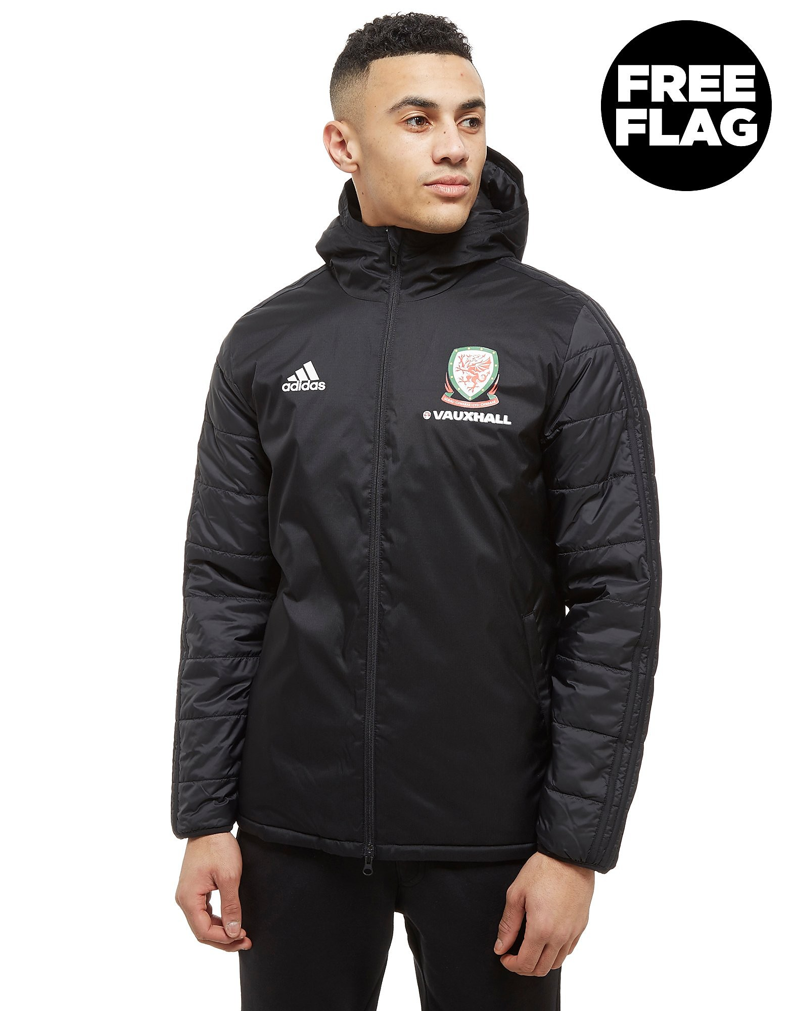 adidas FA Wales 2018 Winter Jacket Heren